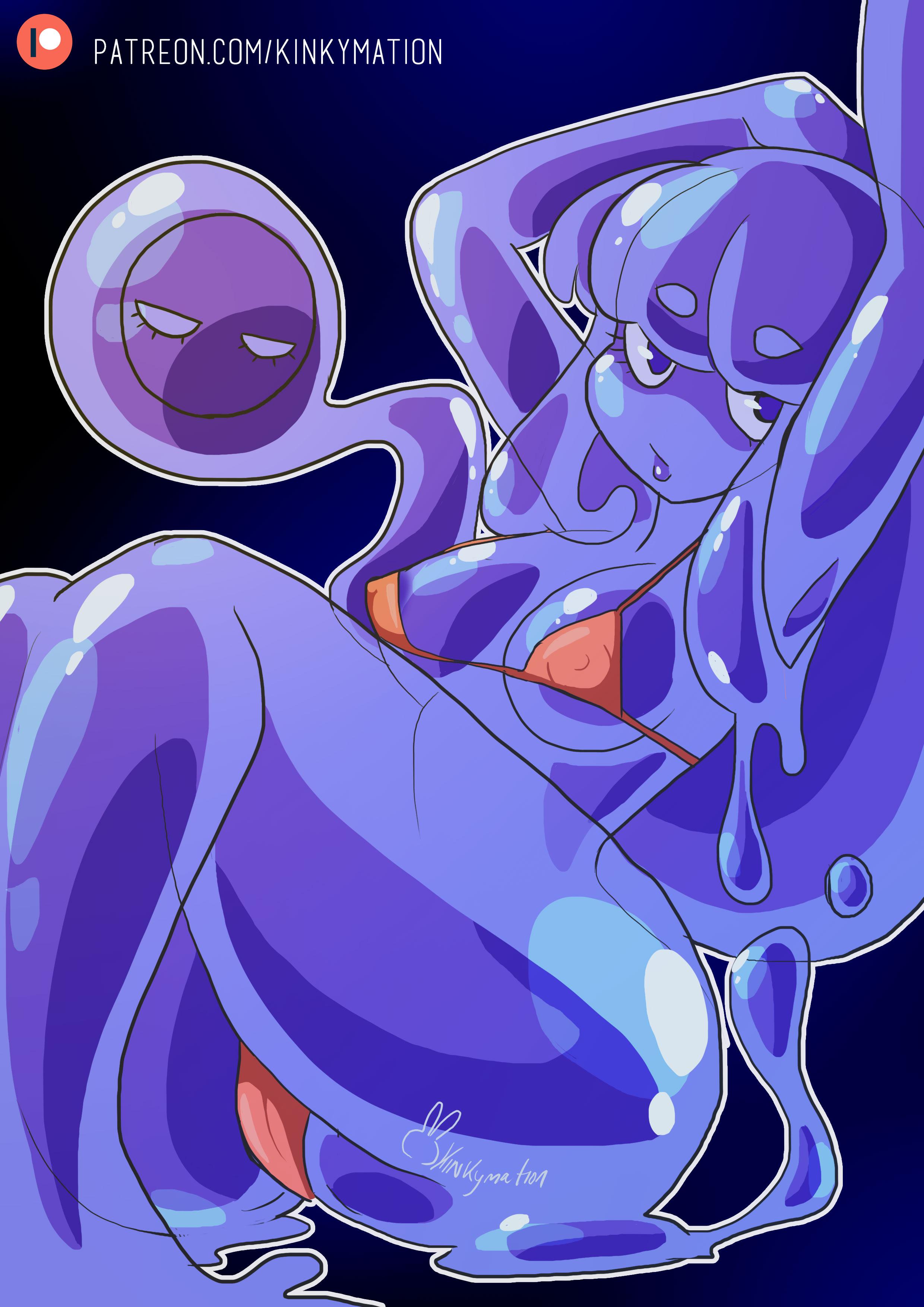 Slime Girl Pinup