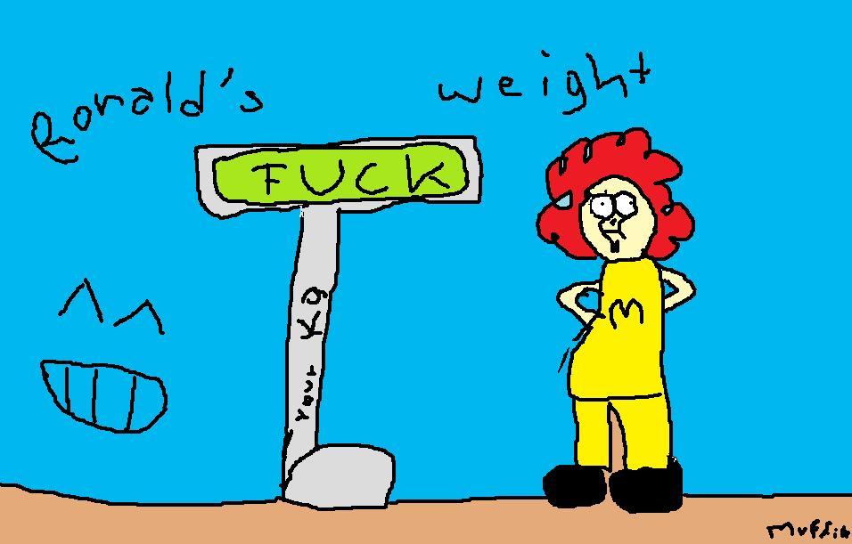 Ronald's Weight
