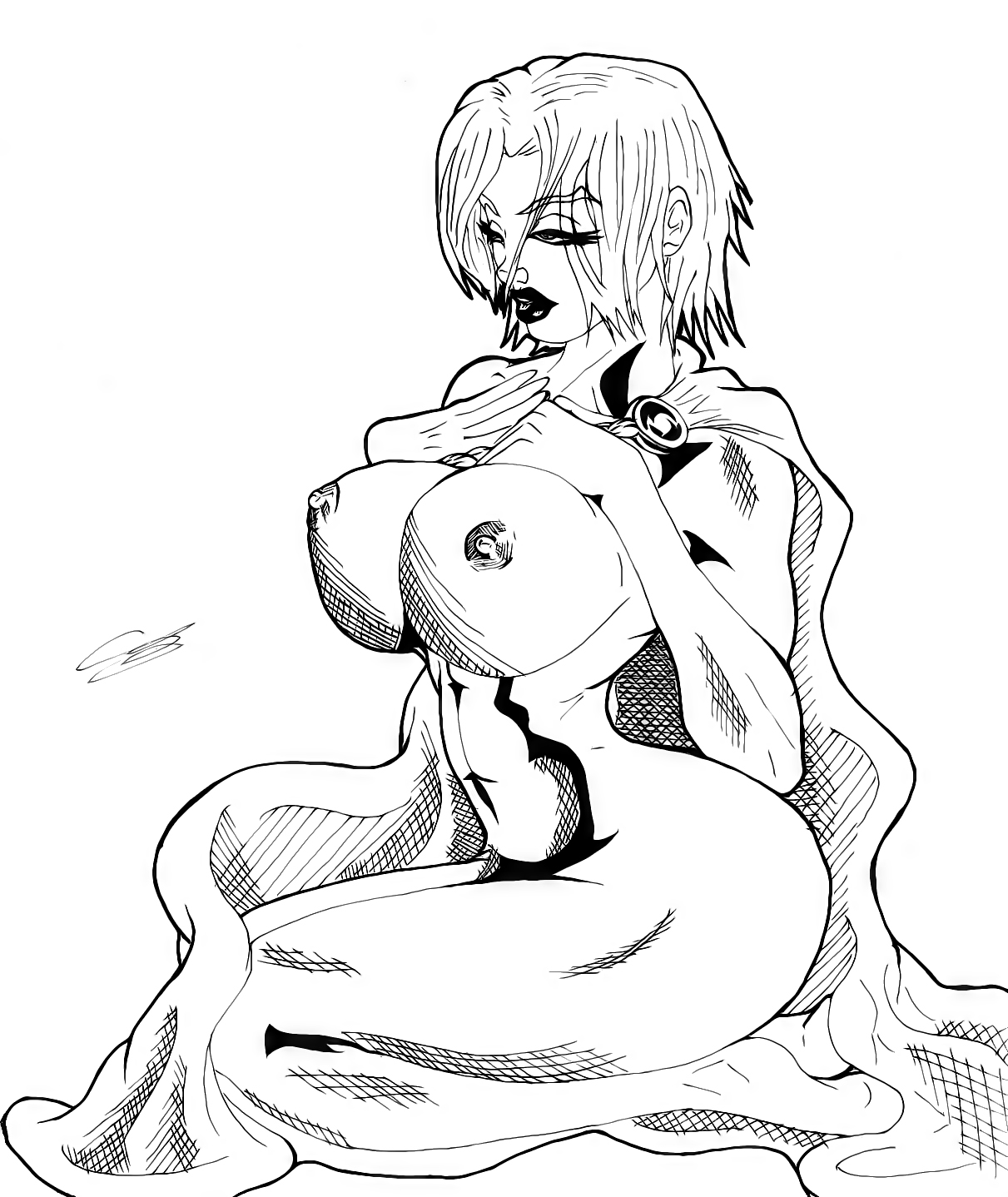 Power Girl with BOOBS