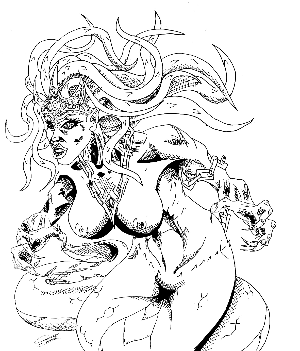 The Gorgon Queen