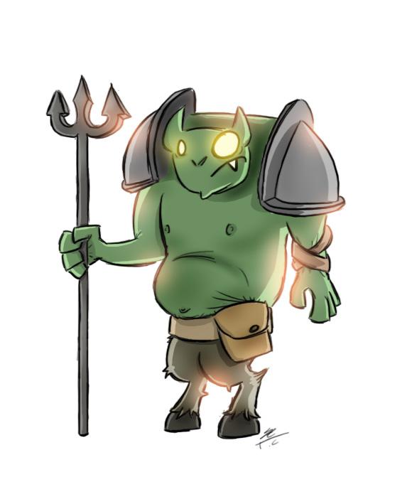 Demon Guard Doodle