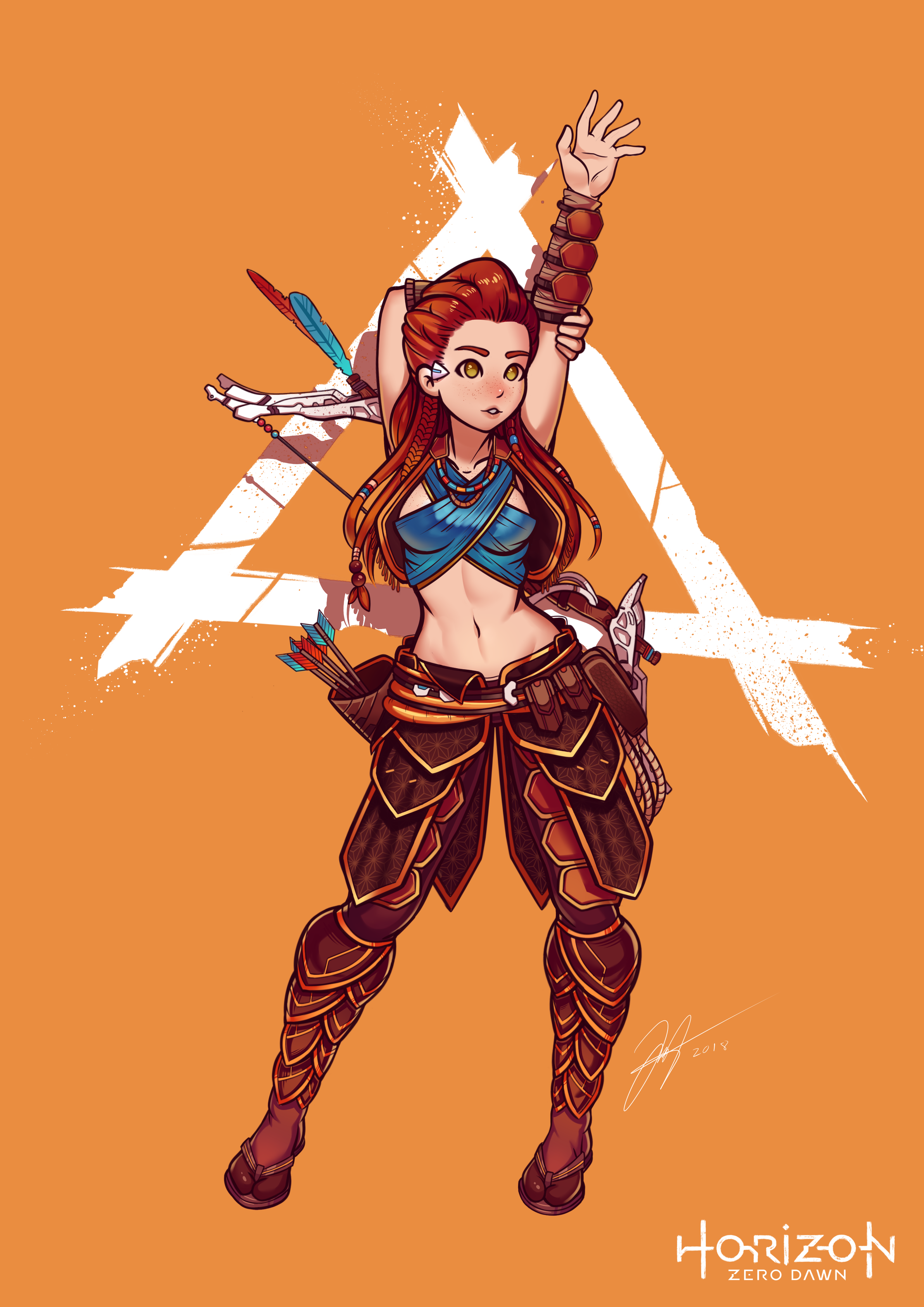 Aloy By Gris9 On Newgrounds