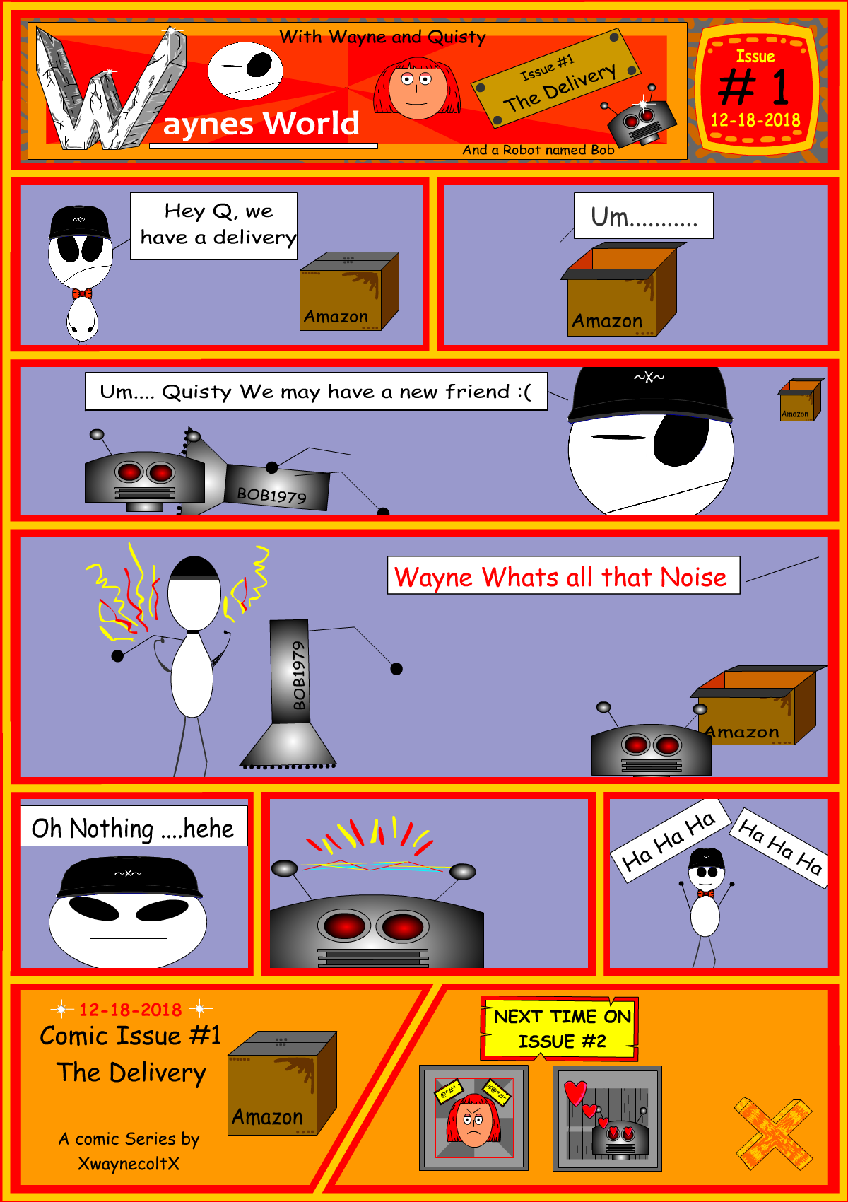 Waynes World #1 (The Delivery)