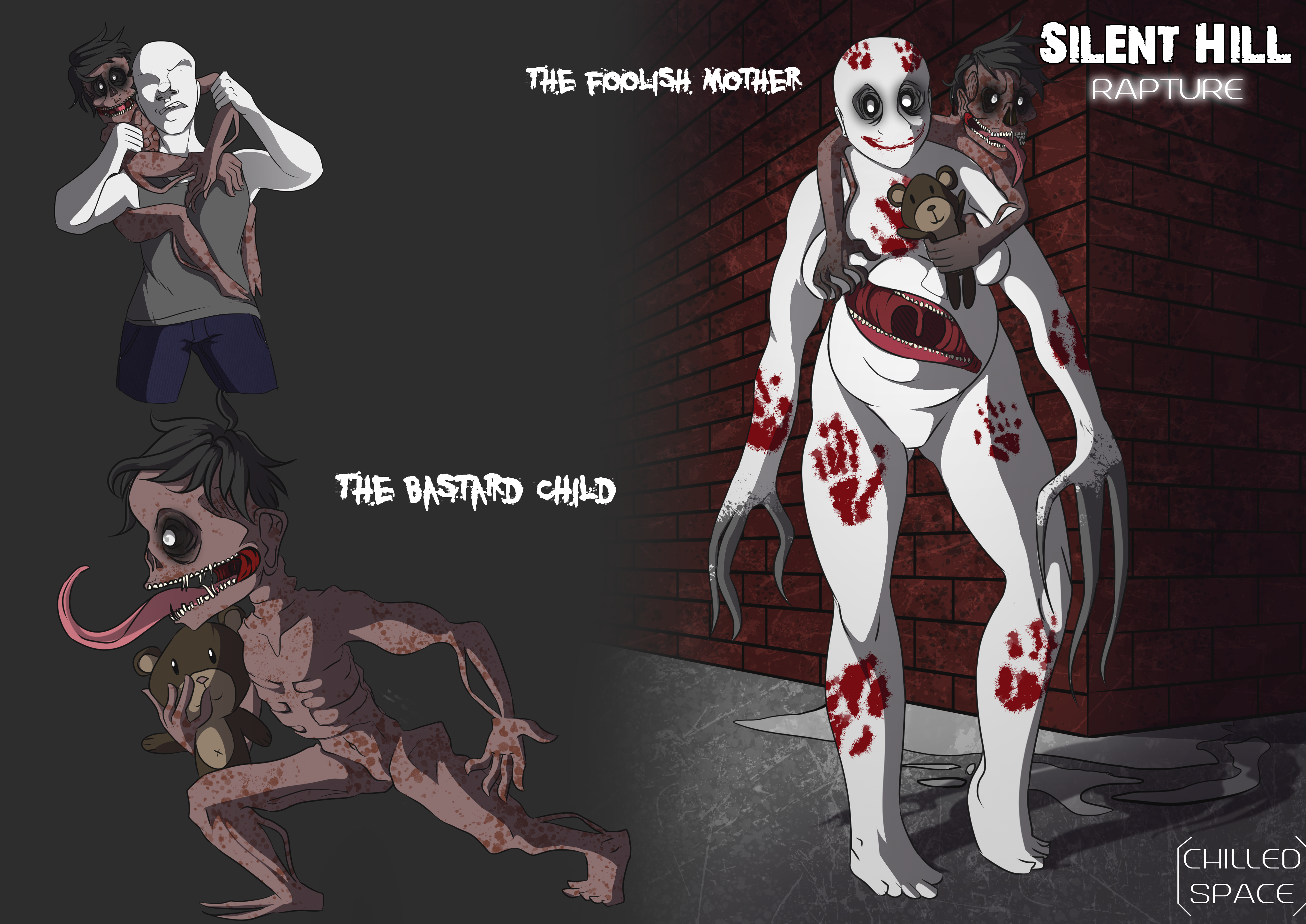 Silent Hill Rapture For Fun Concepts 1 By Chilled Space On