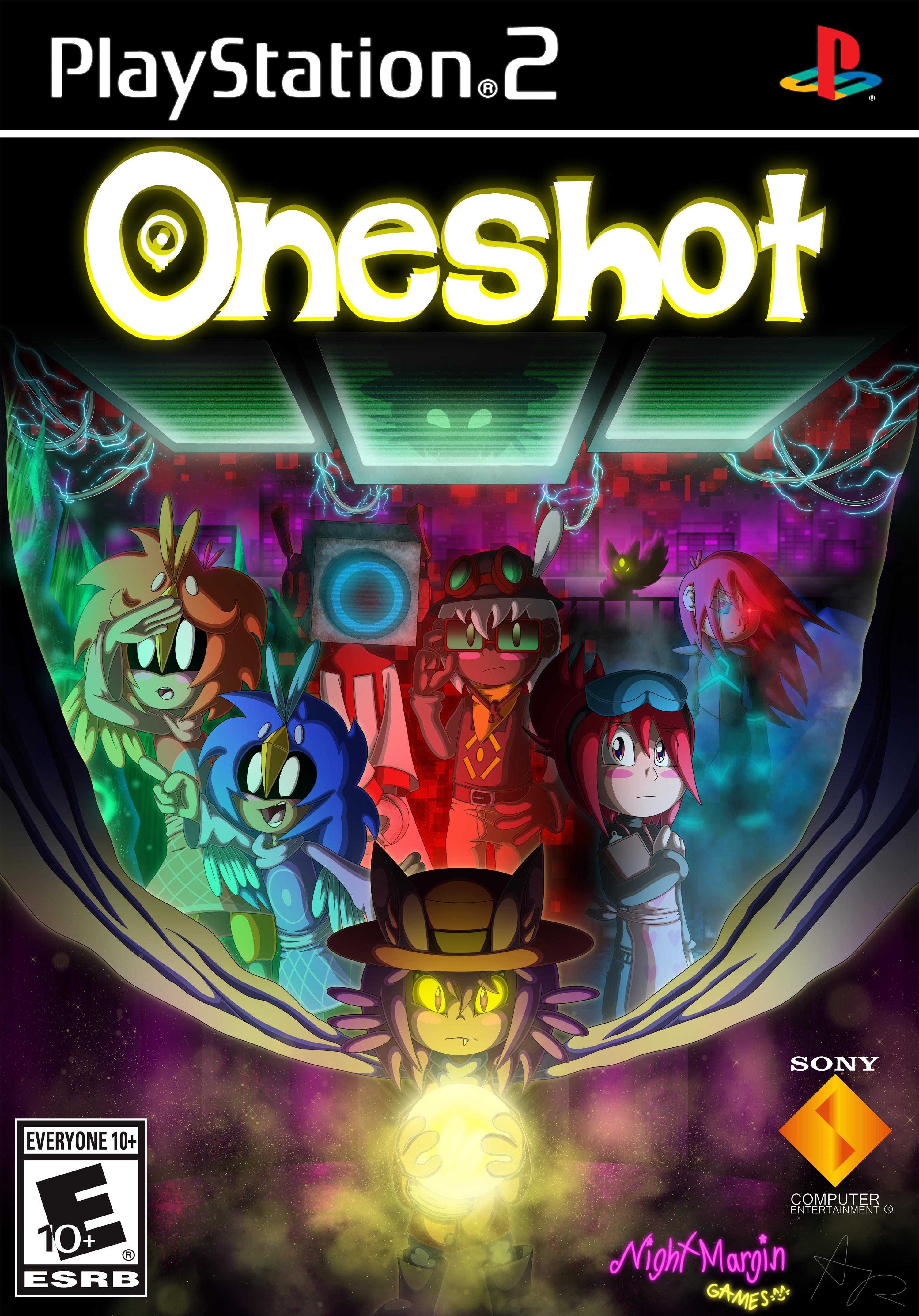 Oneshot PS2 Box Art