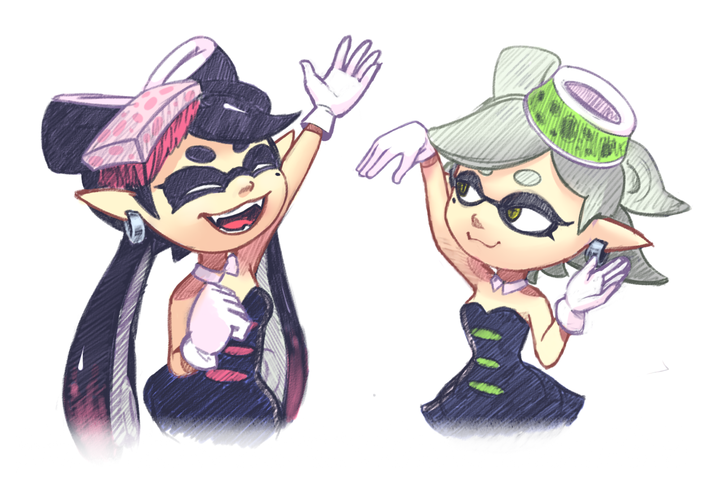 Squidsisters sketch