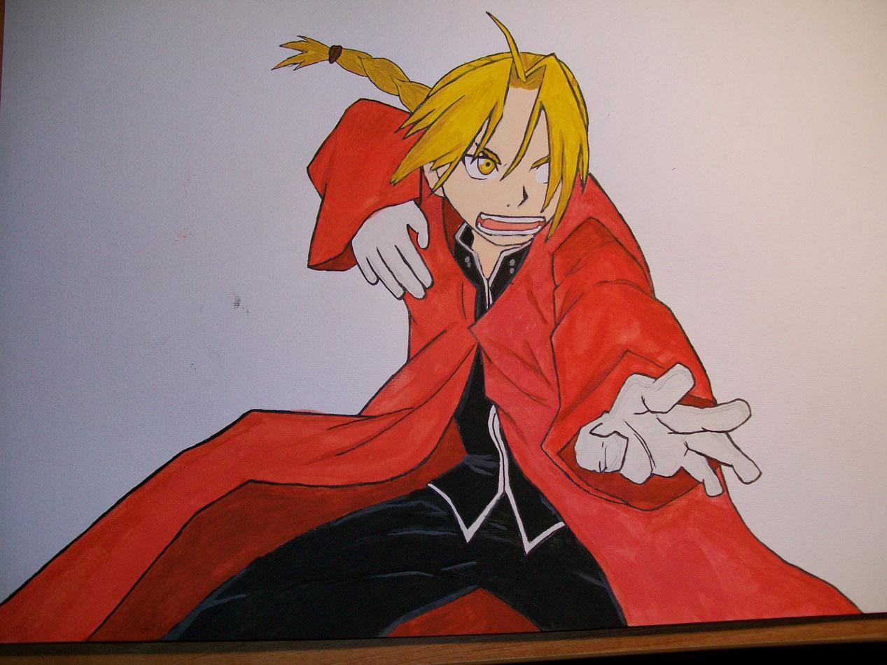 Edward Fullmetal Alchemist