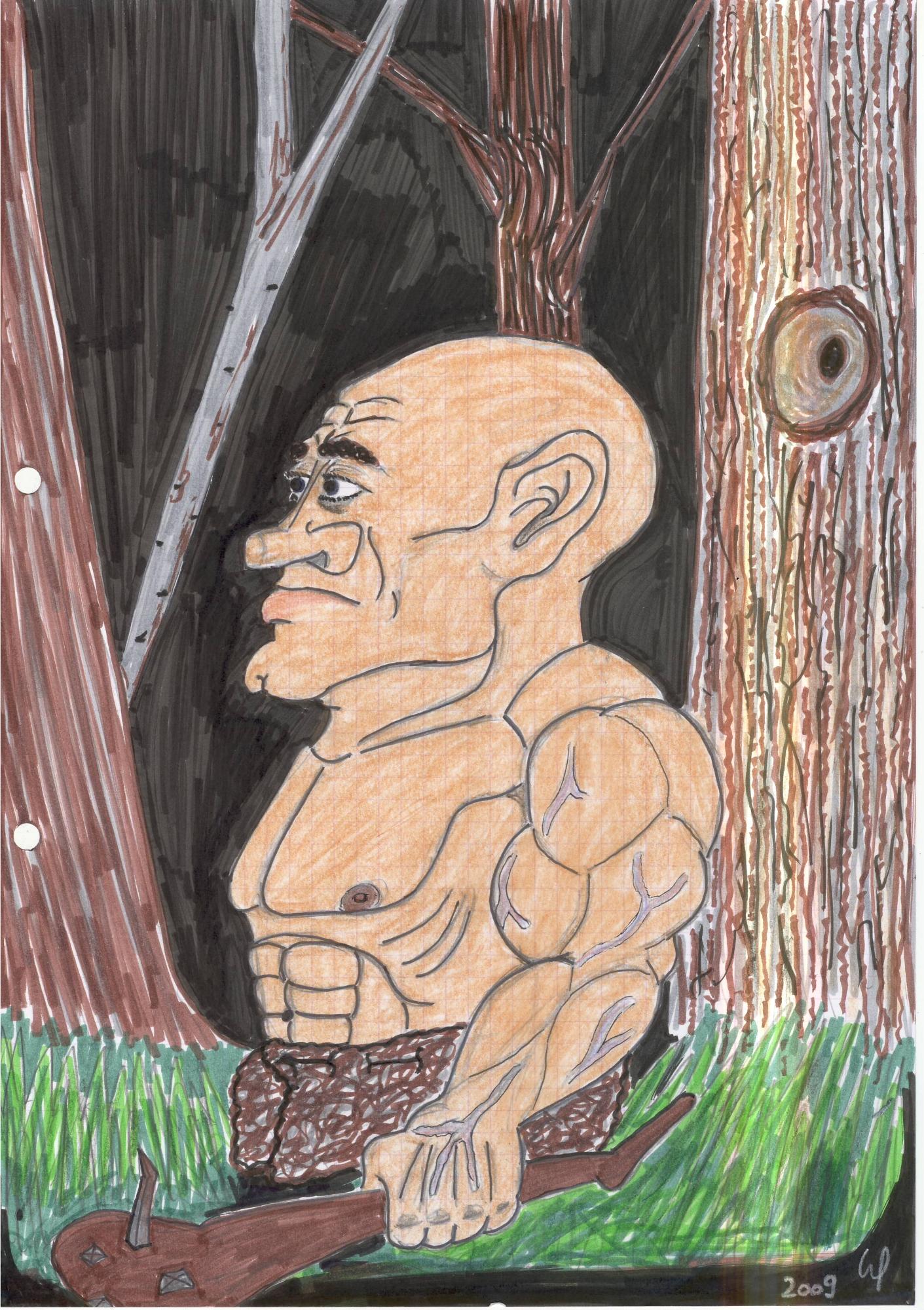 Stoneage Warrior