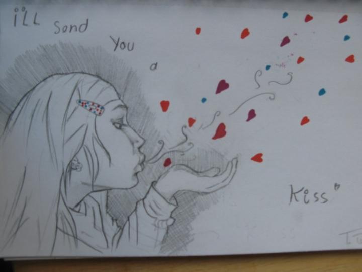 i´ll send you a kiss
