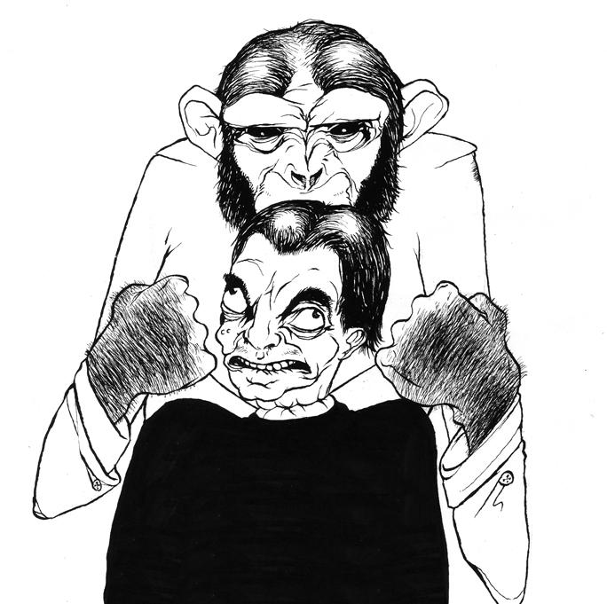 Assassin Chimp