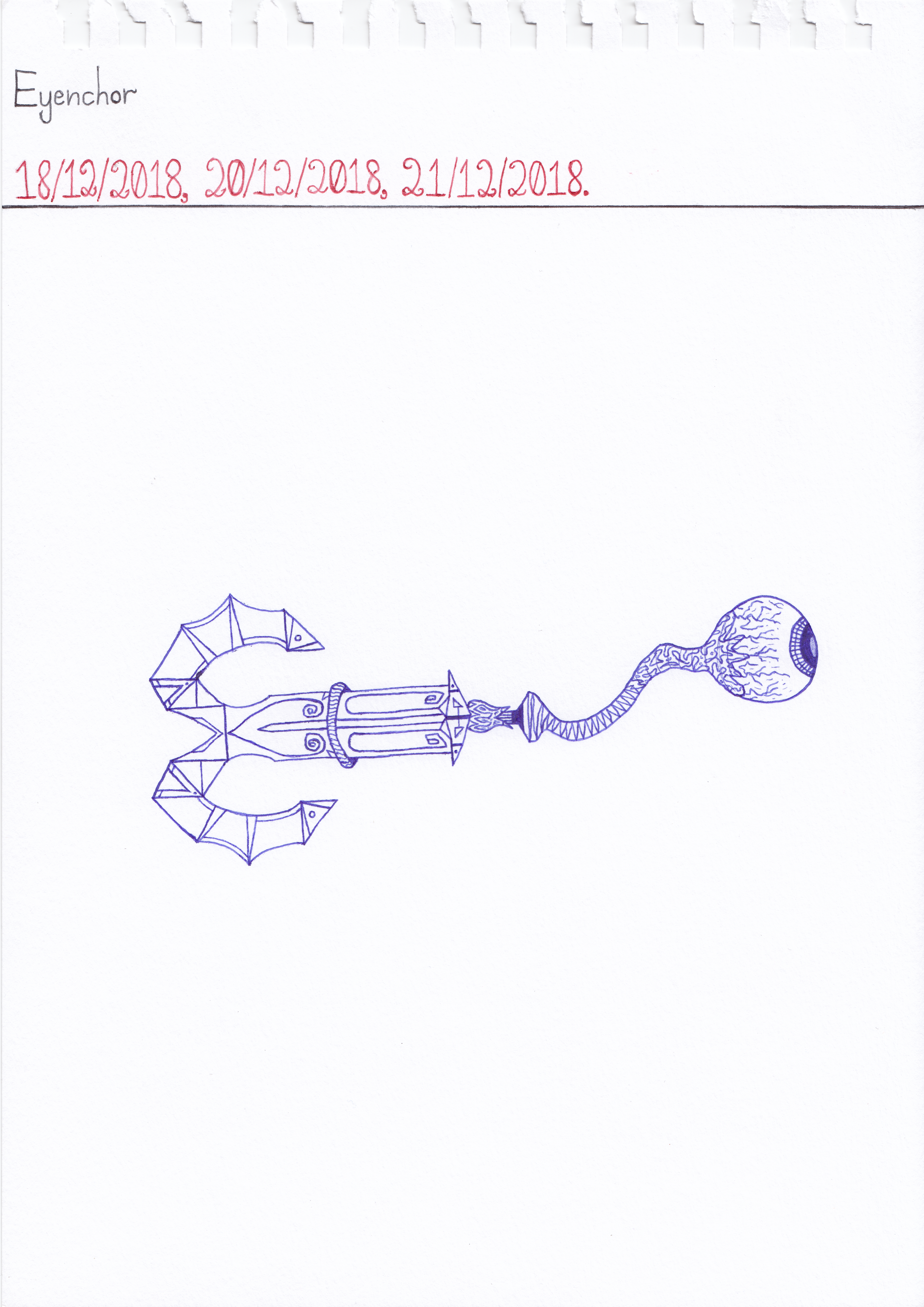 Art #96 -- Eyenchor