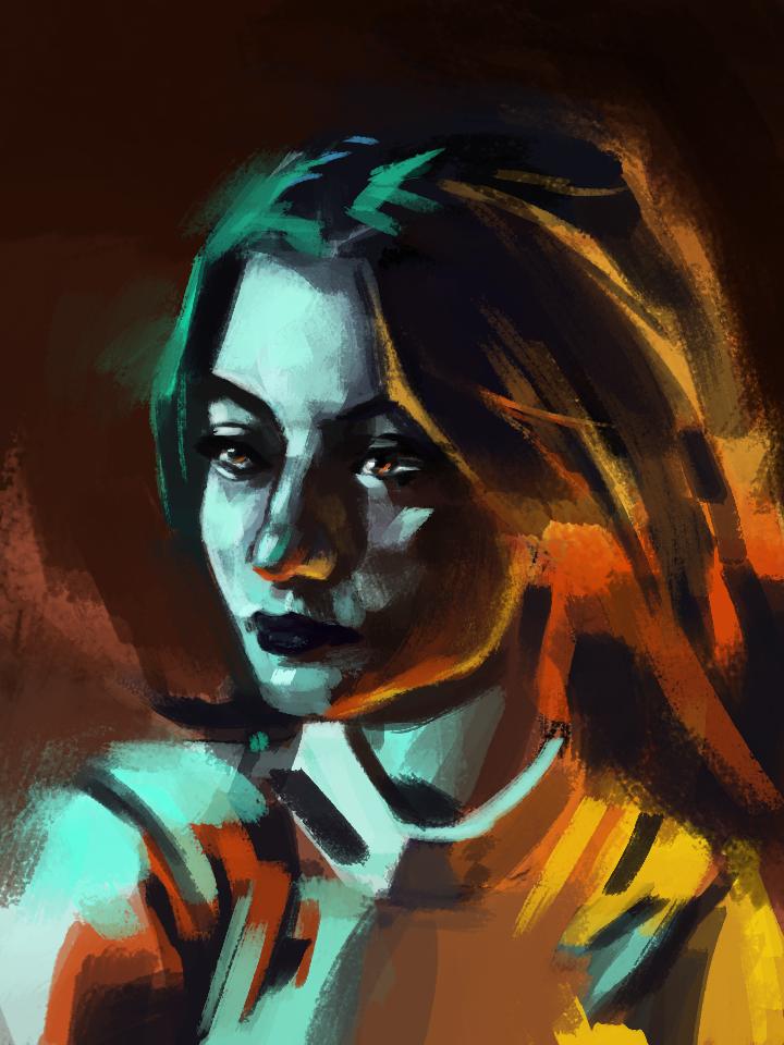 Color Portrait Study