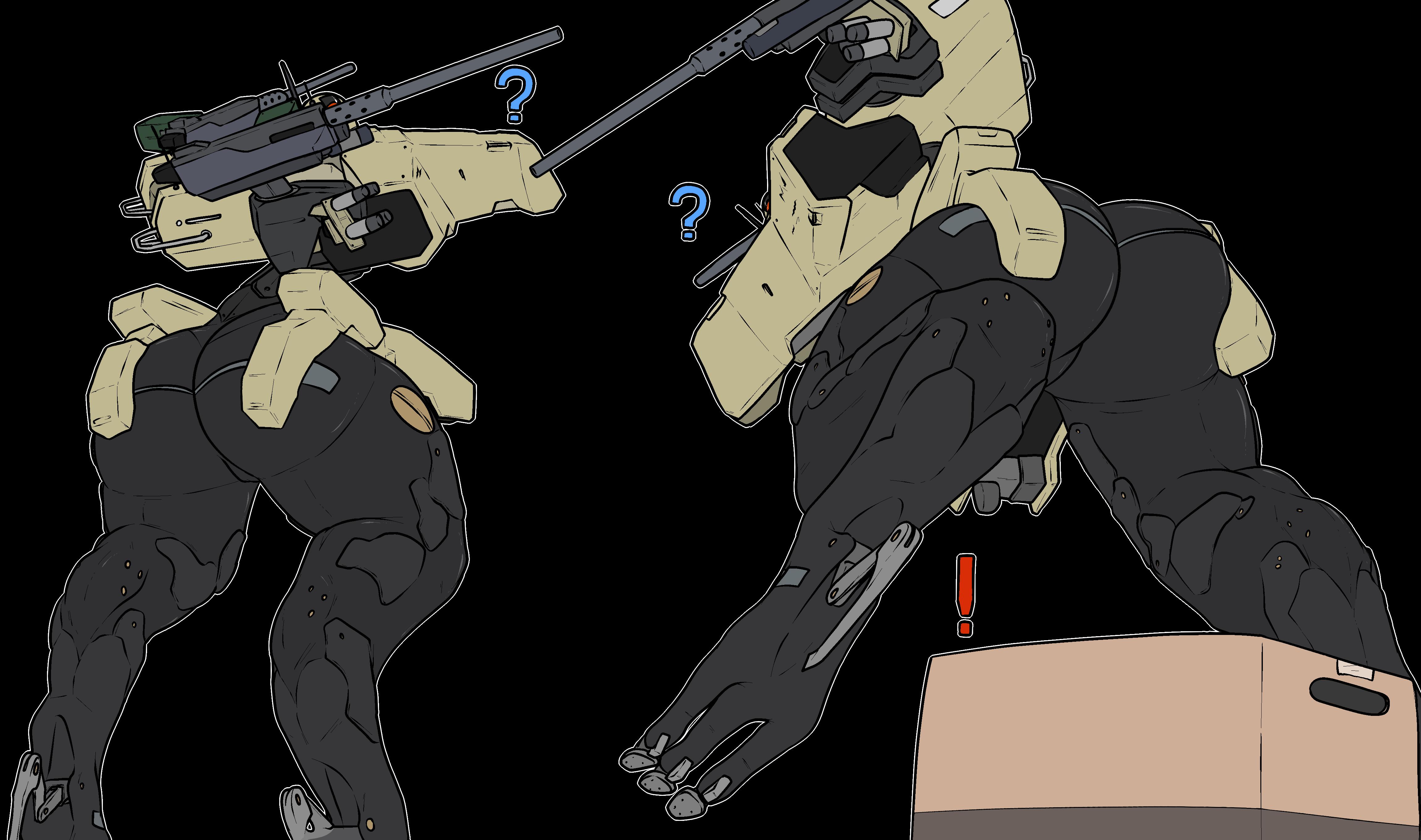 Metal Gear Solid: GEKKO by MethadosArt on Newgrounds