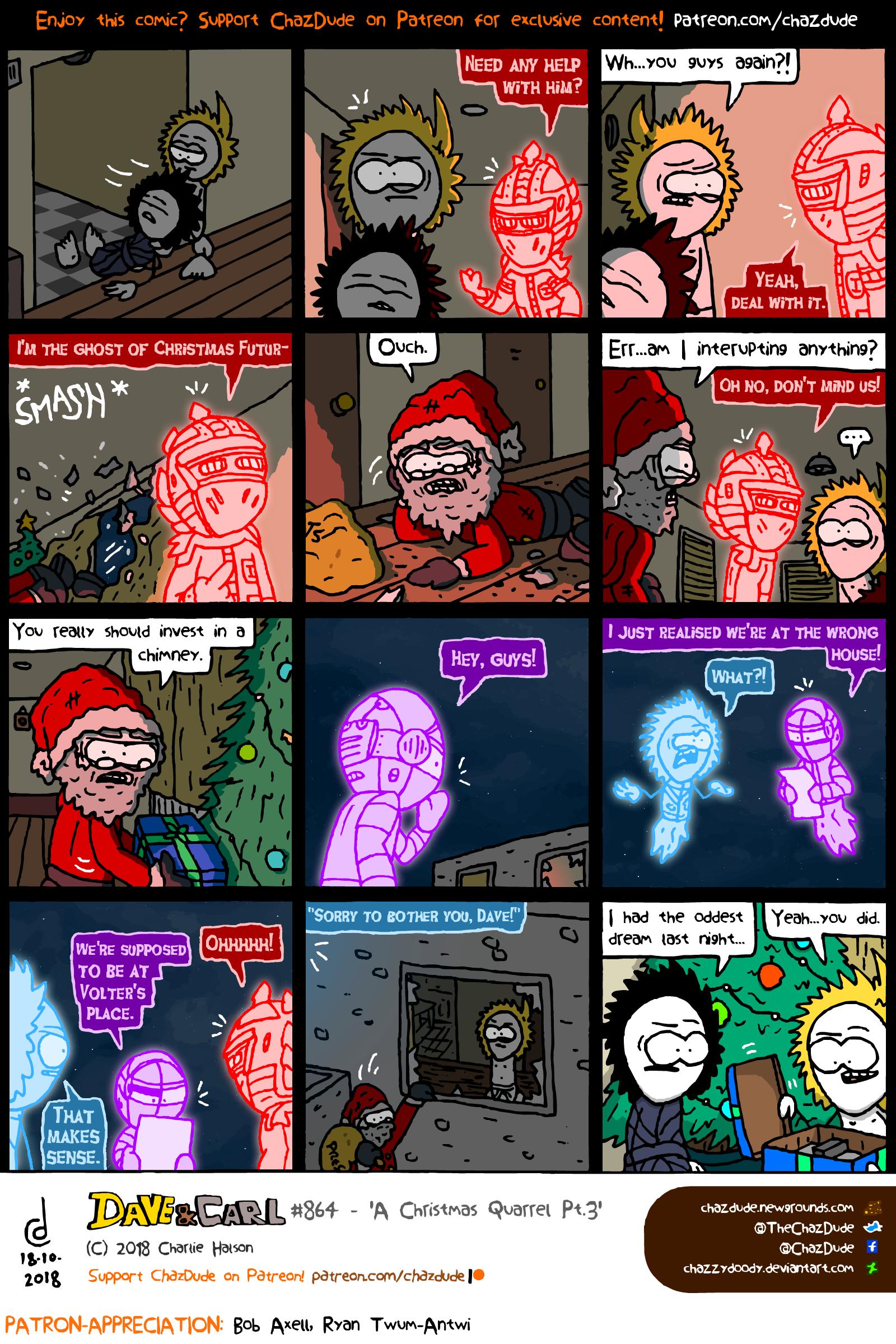 A Christmas Quarrel Pt.3