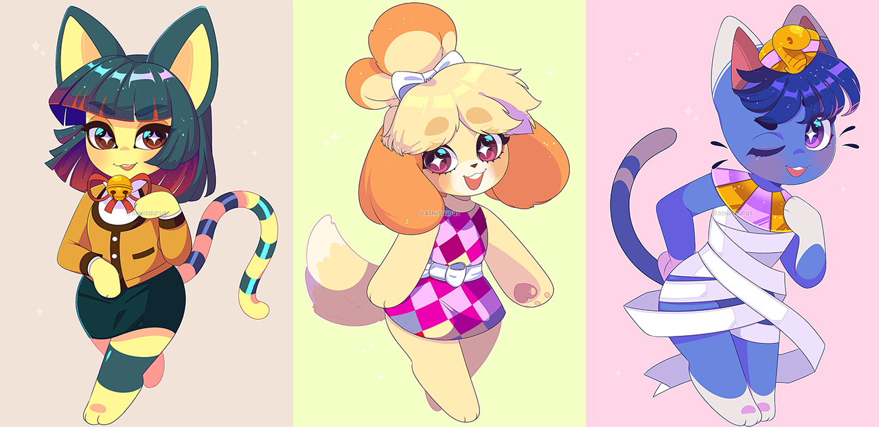 Animal Crossing: Outfit Swaps