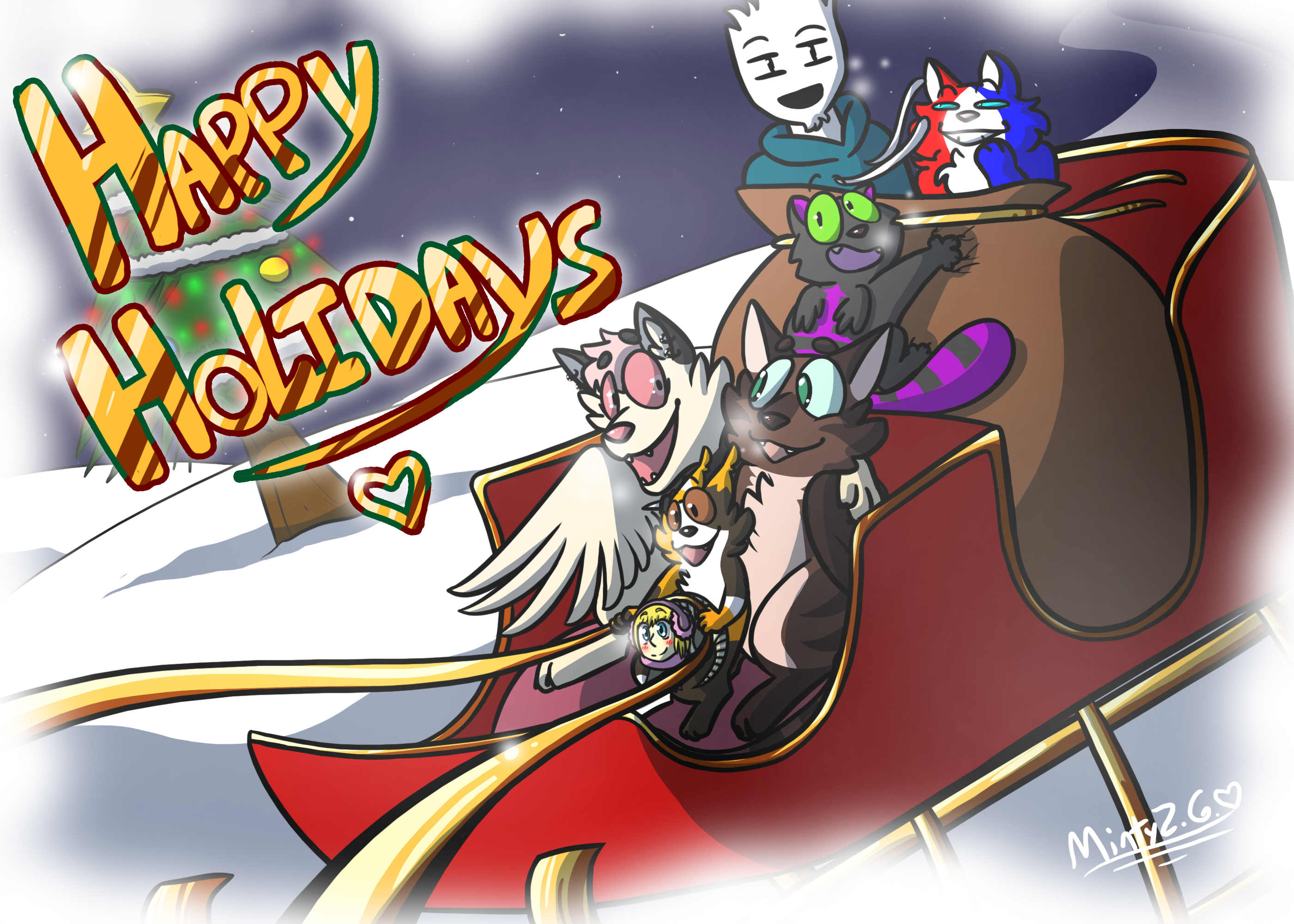 Lovely Weather for a Sleigh Ride Together