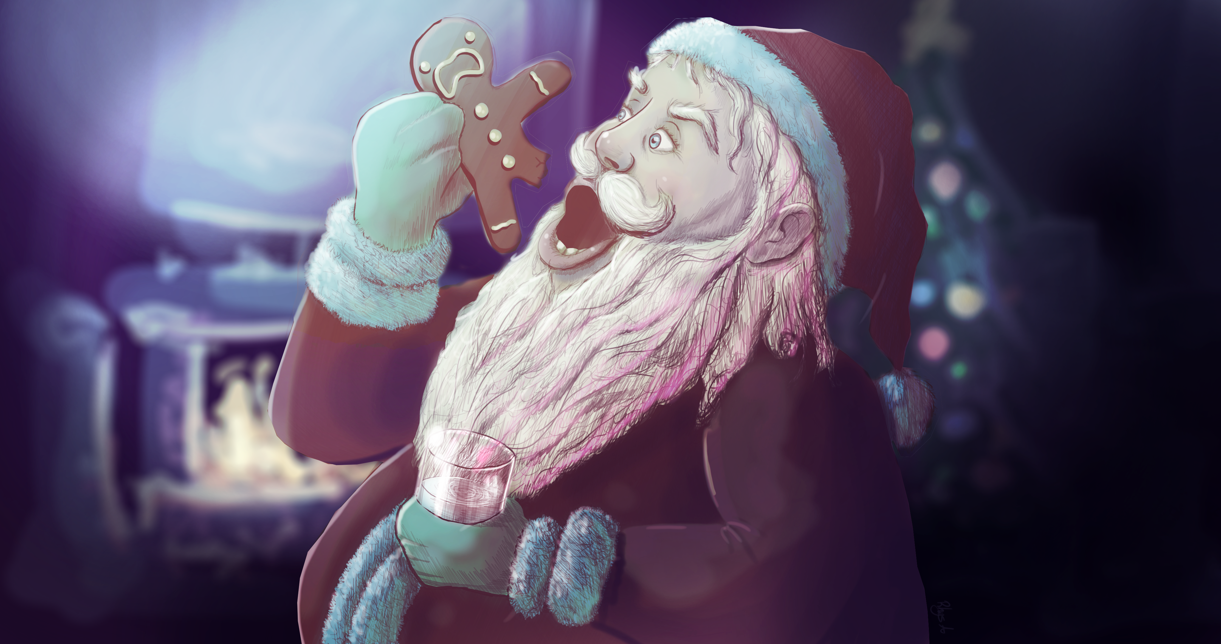 Santa Loves Cookies