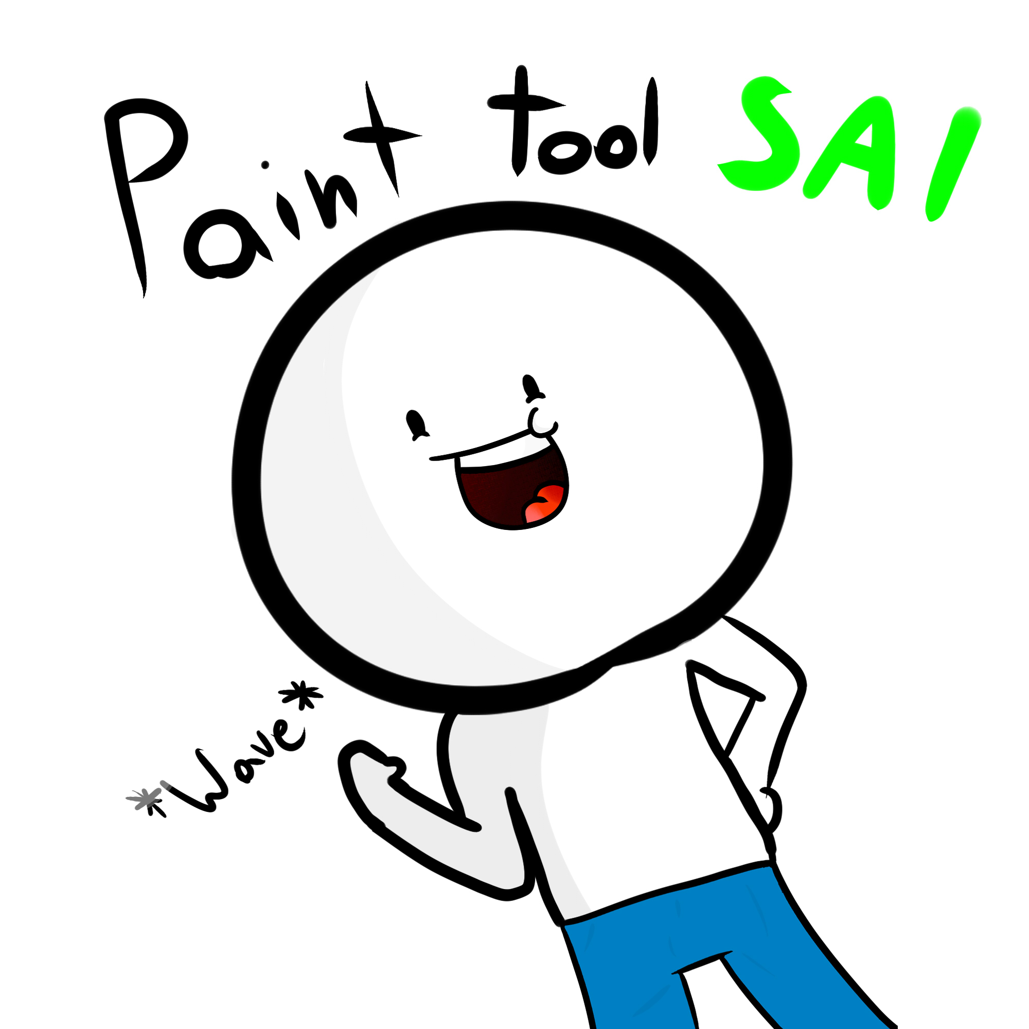 I got Paint Tool Sai and a Tablet!