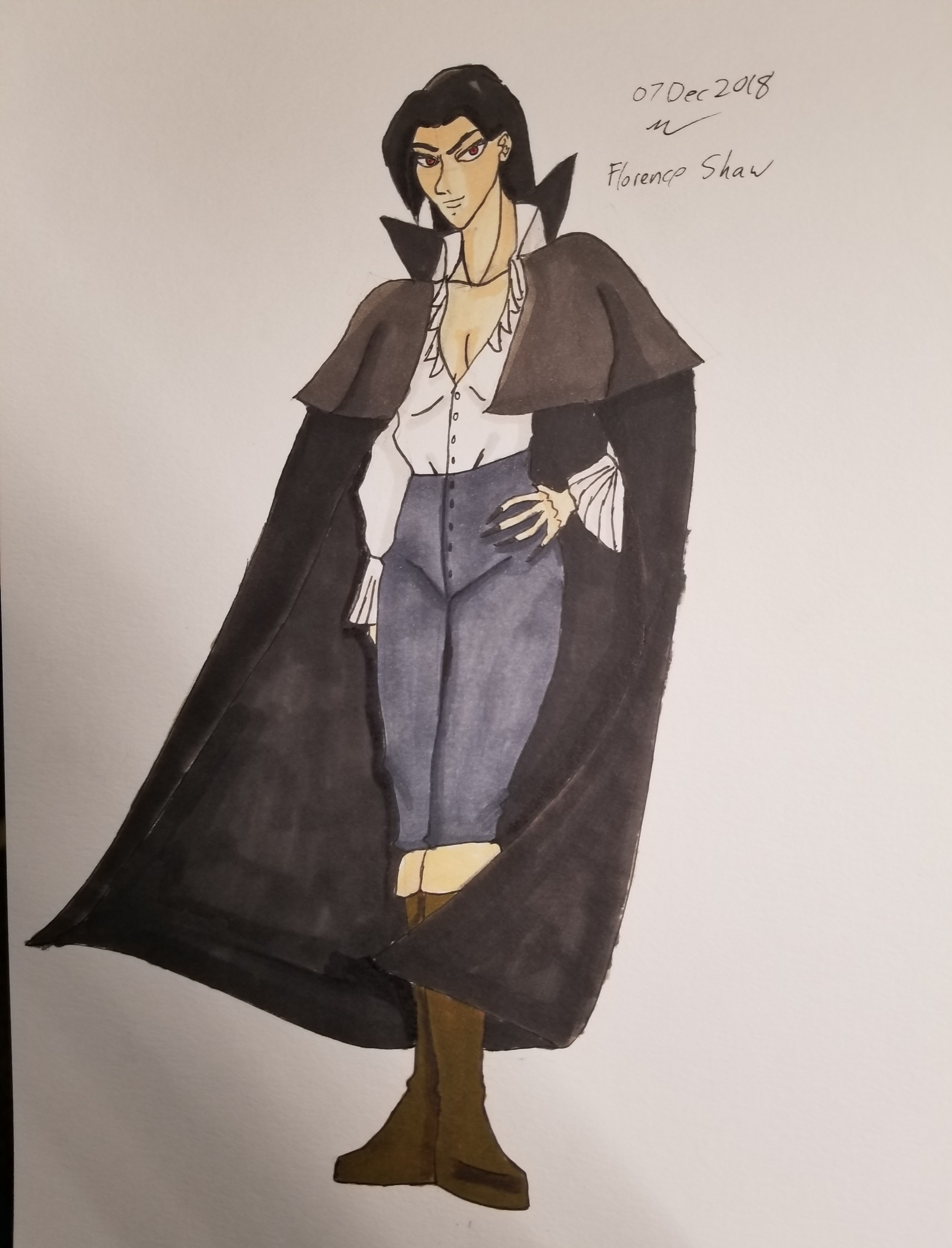 Florence Shaw, Vampire Lord