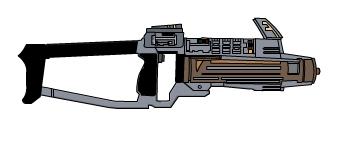 Coloured Ray Gun