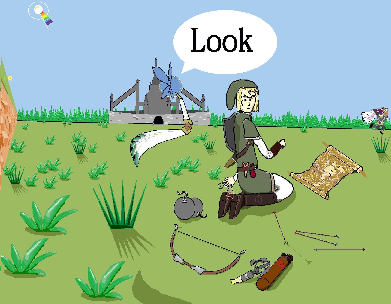 Link look!