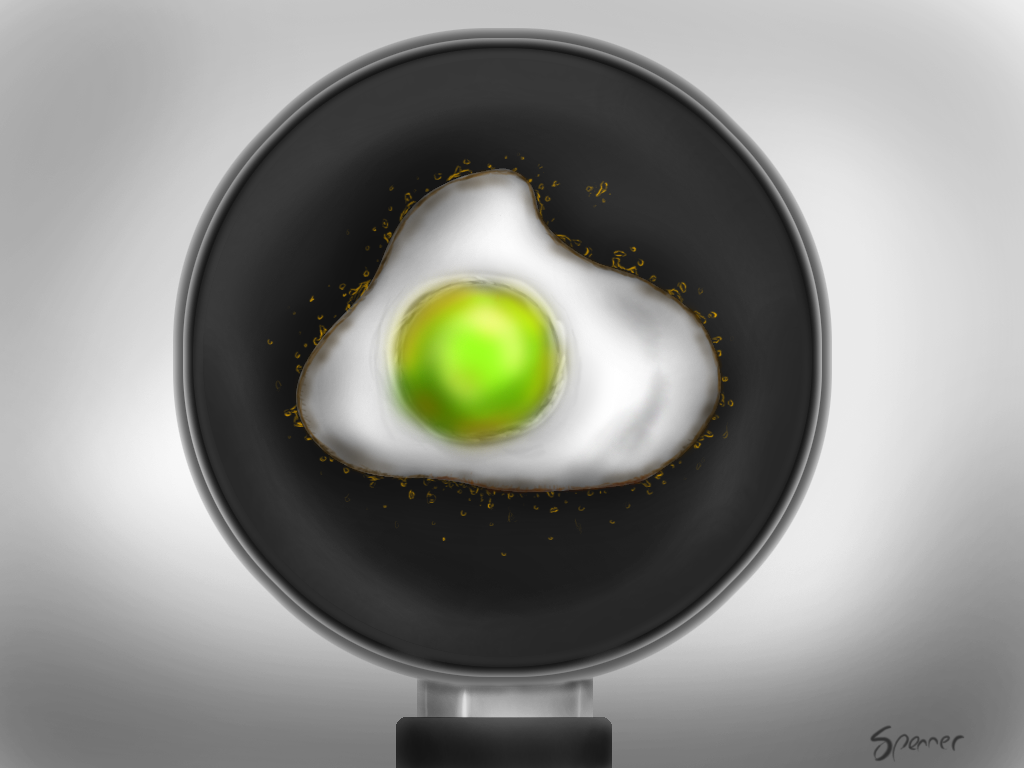 Green Egg Cookin'
