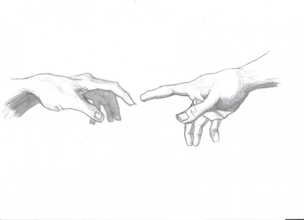Creation of Adam Sketch