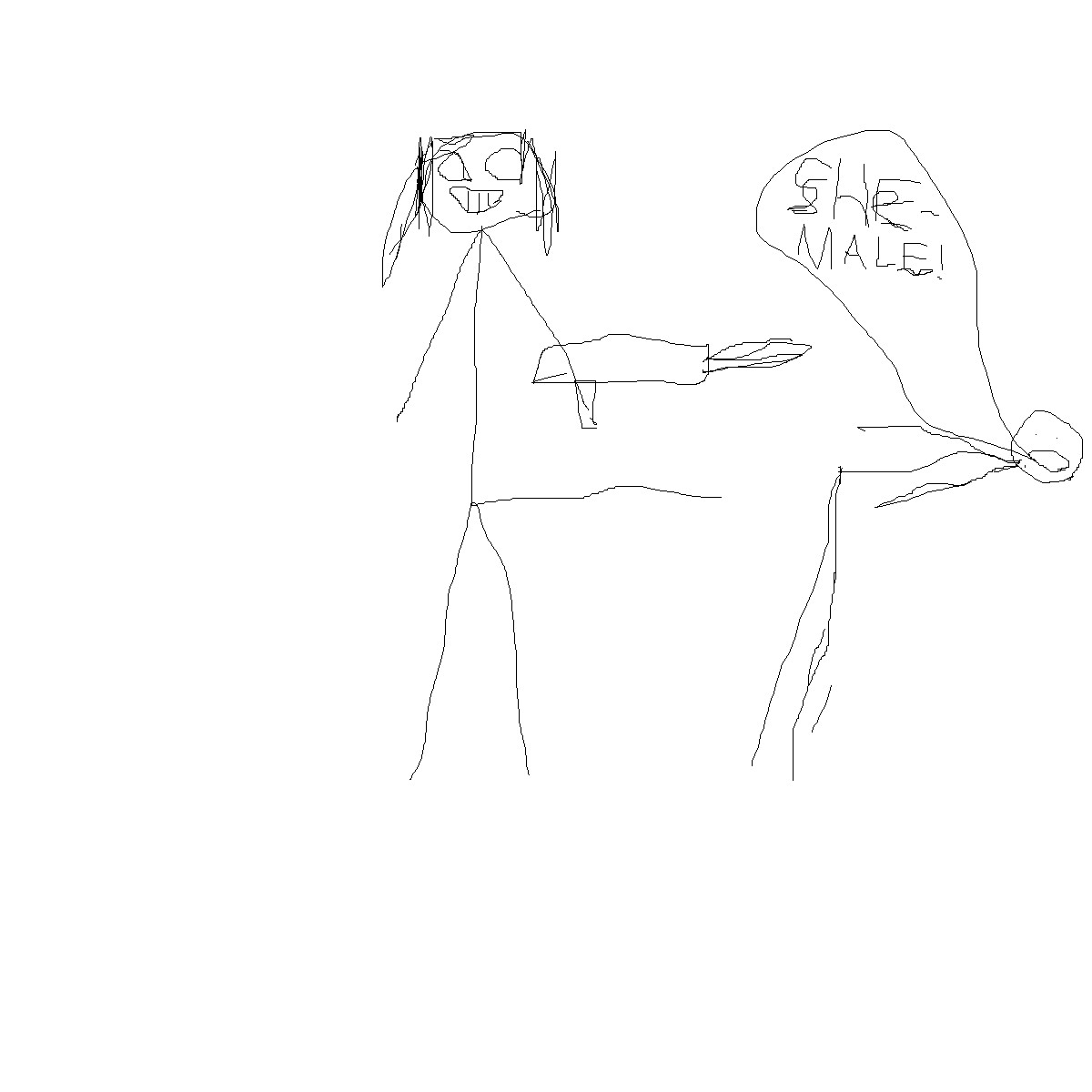 kindergarten drawing #2