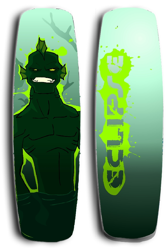Sea Monster Wave-board