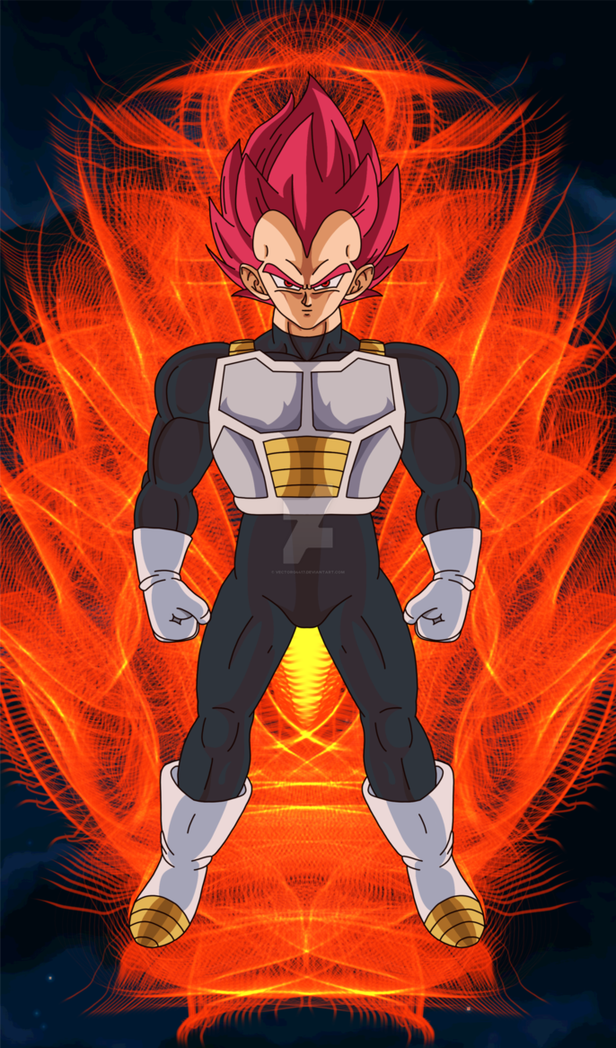 Vegeta (Super Saiyan God)