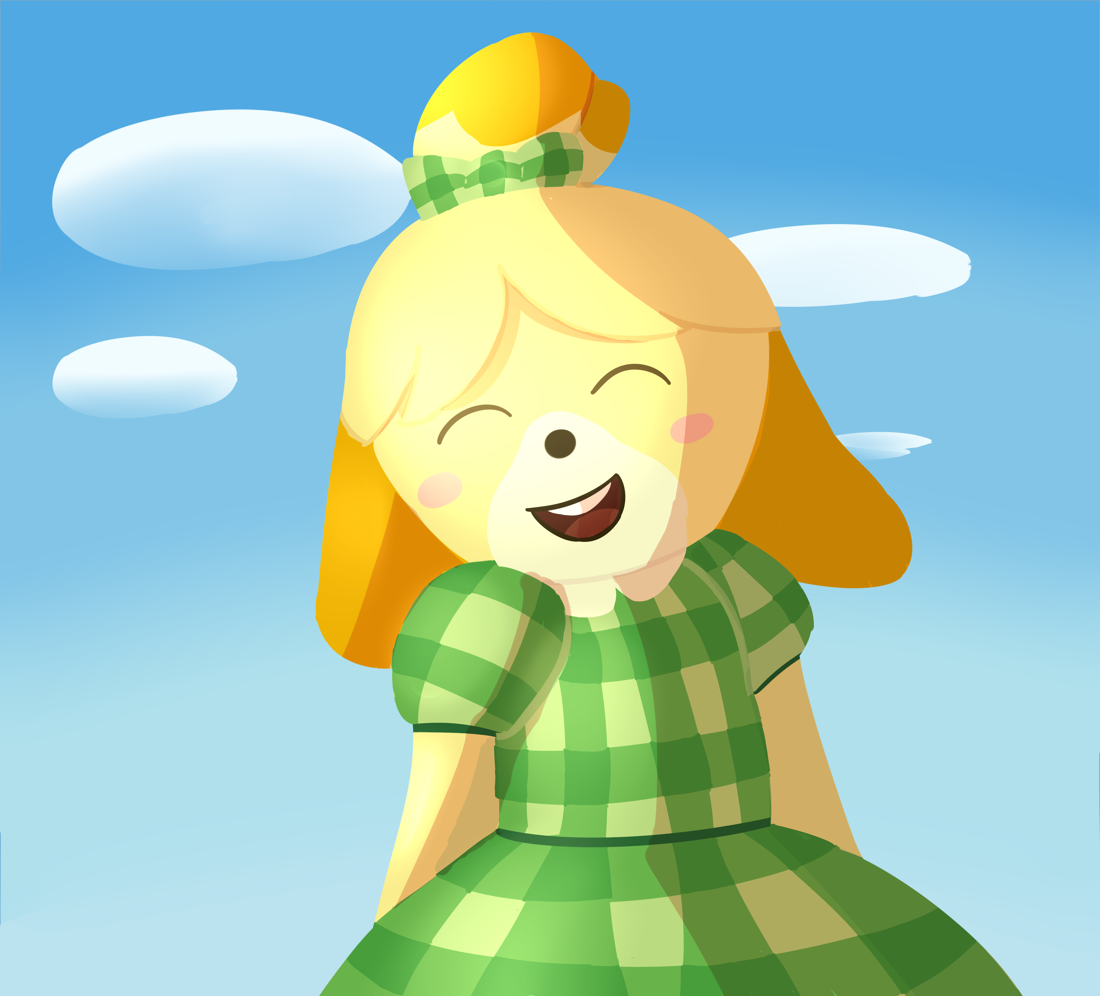 Animal Crossing Isabelle by SinfulSweets21 on Newgrounds