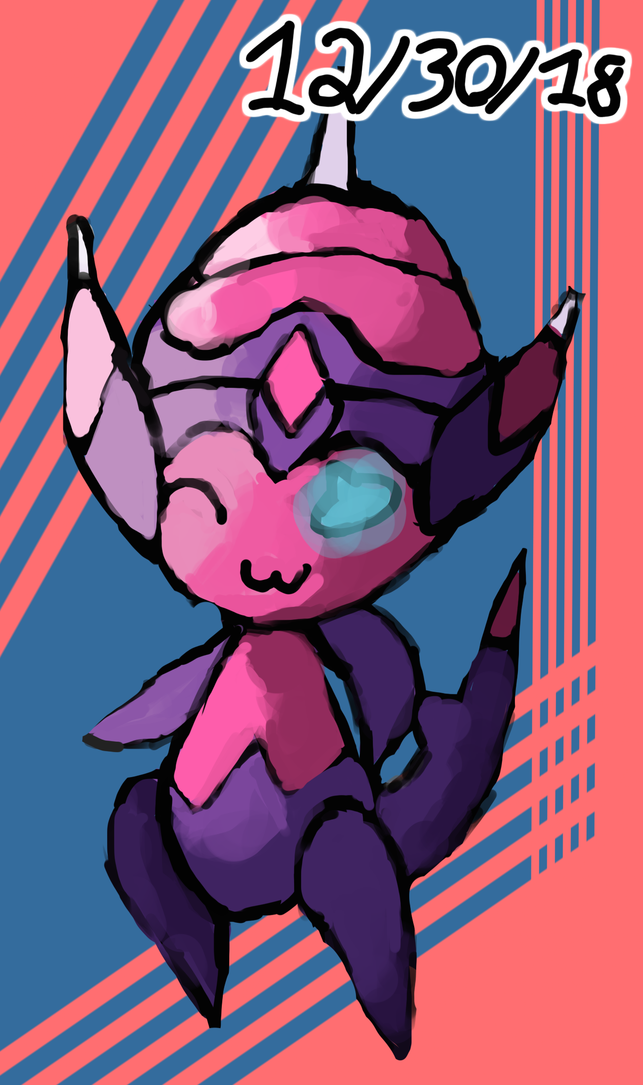 Sassy Poipole Painting