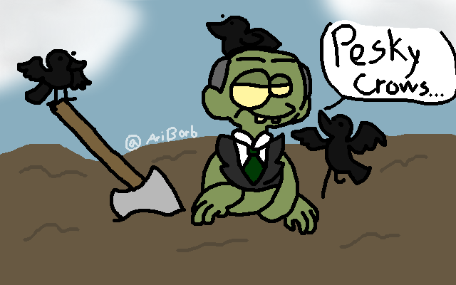Those Pesky Crows By Ariborb On Newgrounds