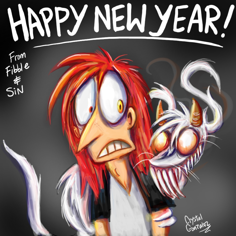Happy New Year-Fibble and Sin