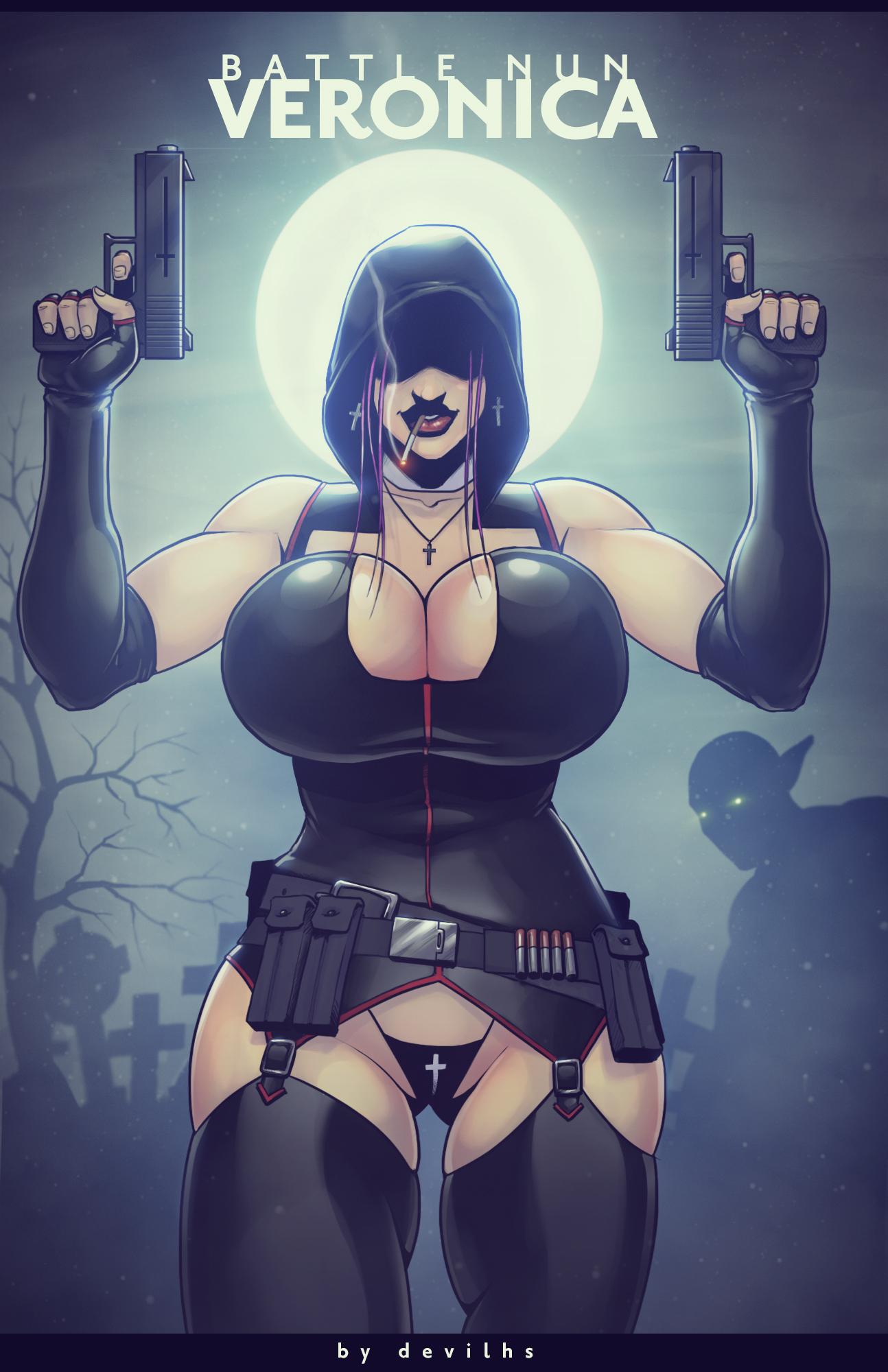 Battle Nun Veronica: Cemetery Nightmare [comic]