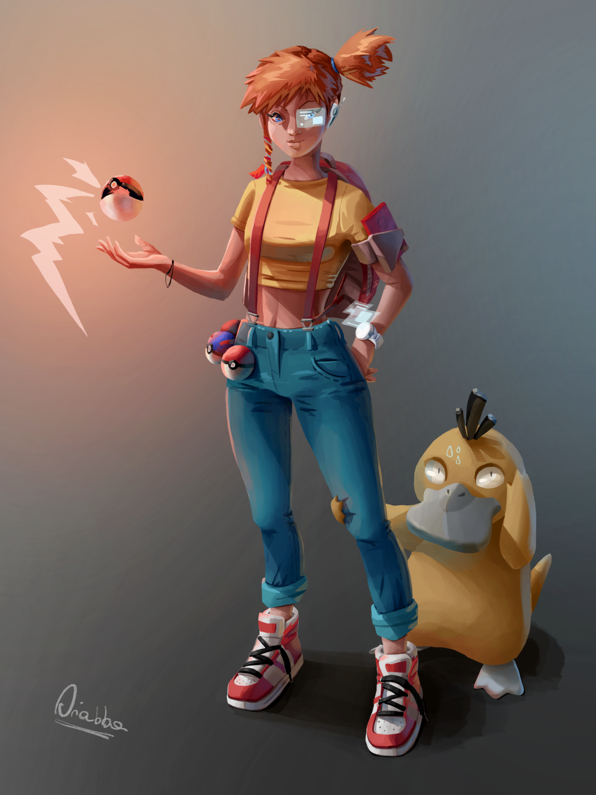 Pokemon character redesign
