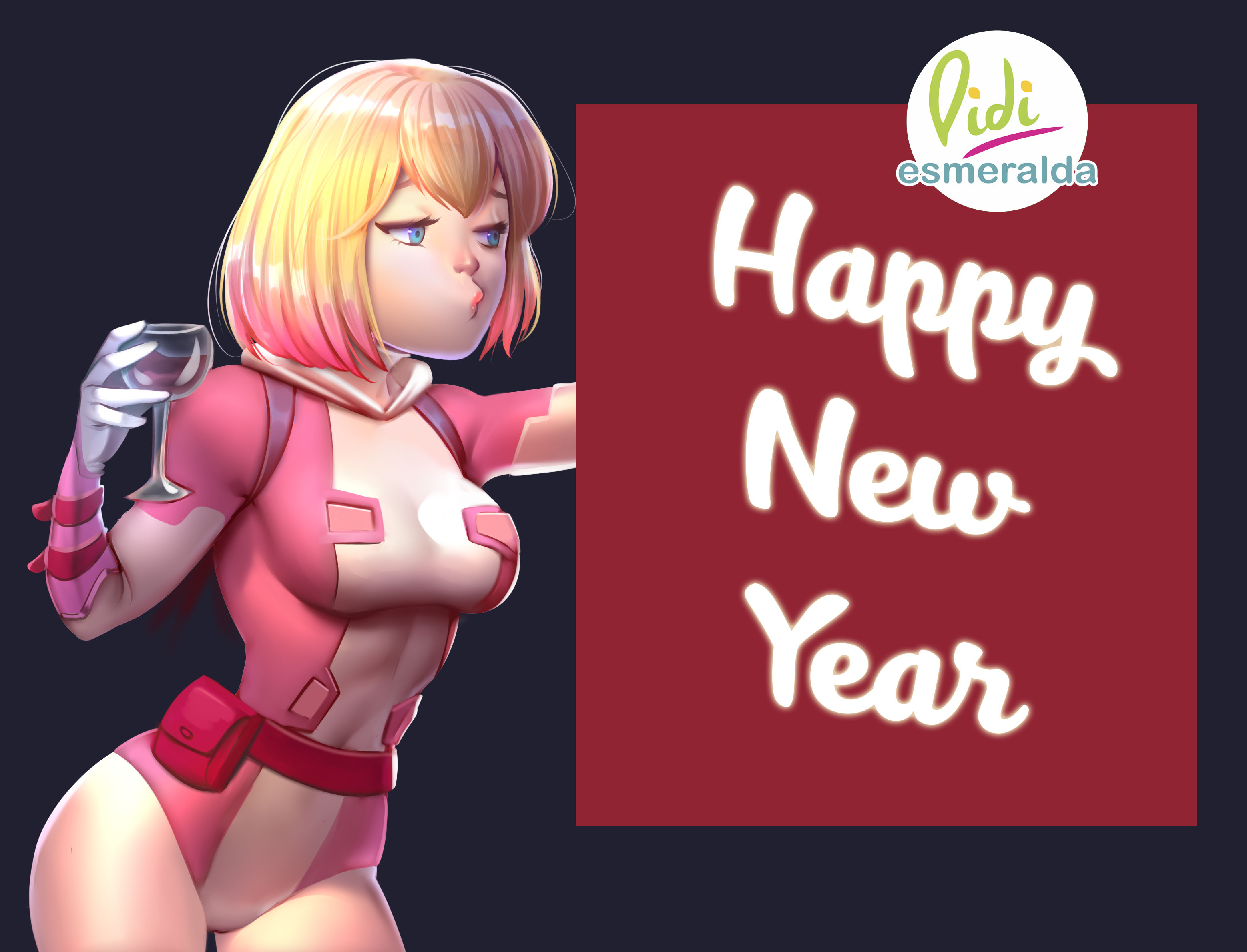 Gwenpool Happy New Year