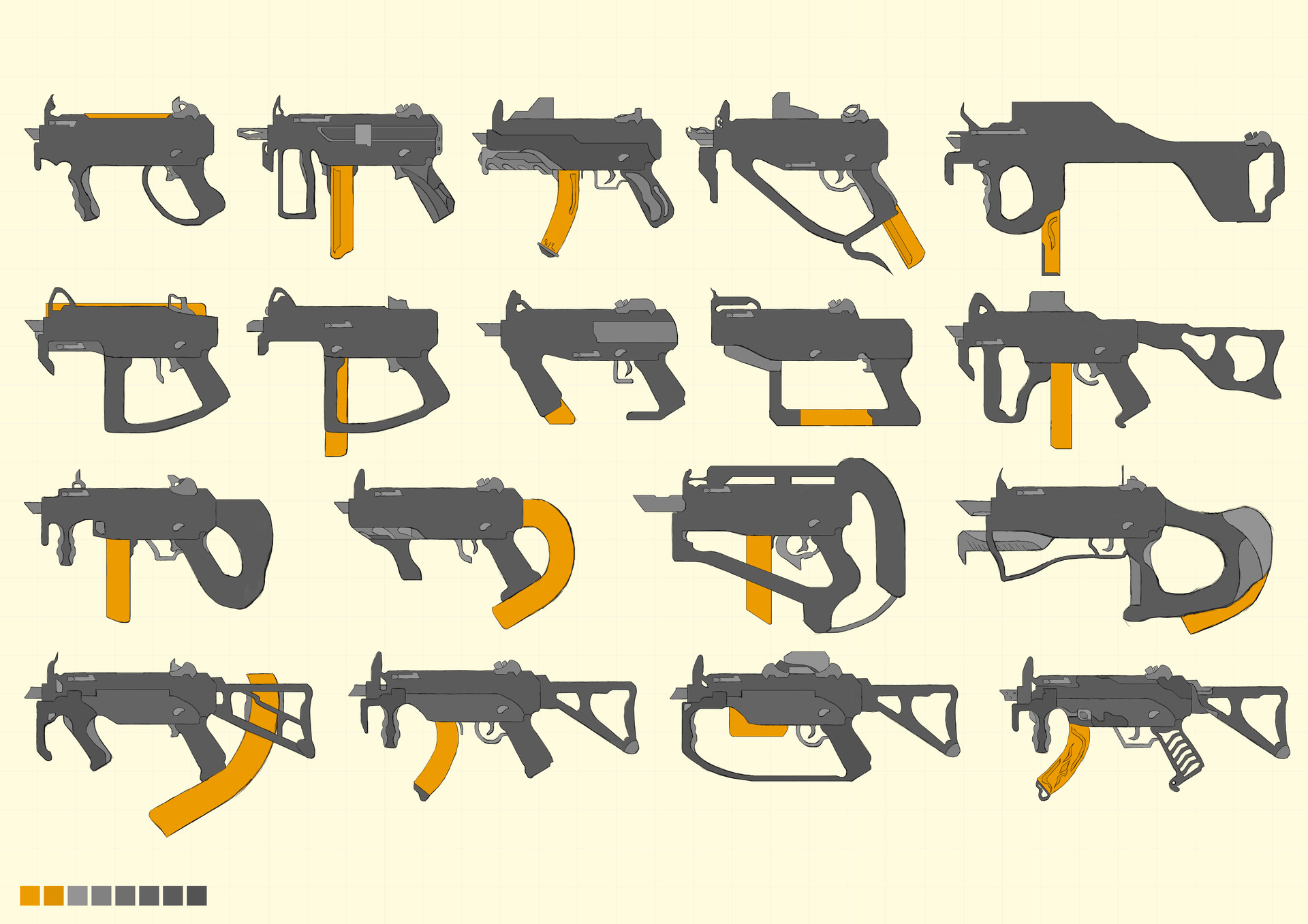 More MP5K Redesigns