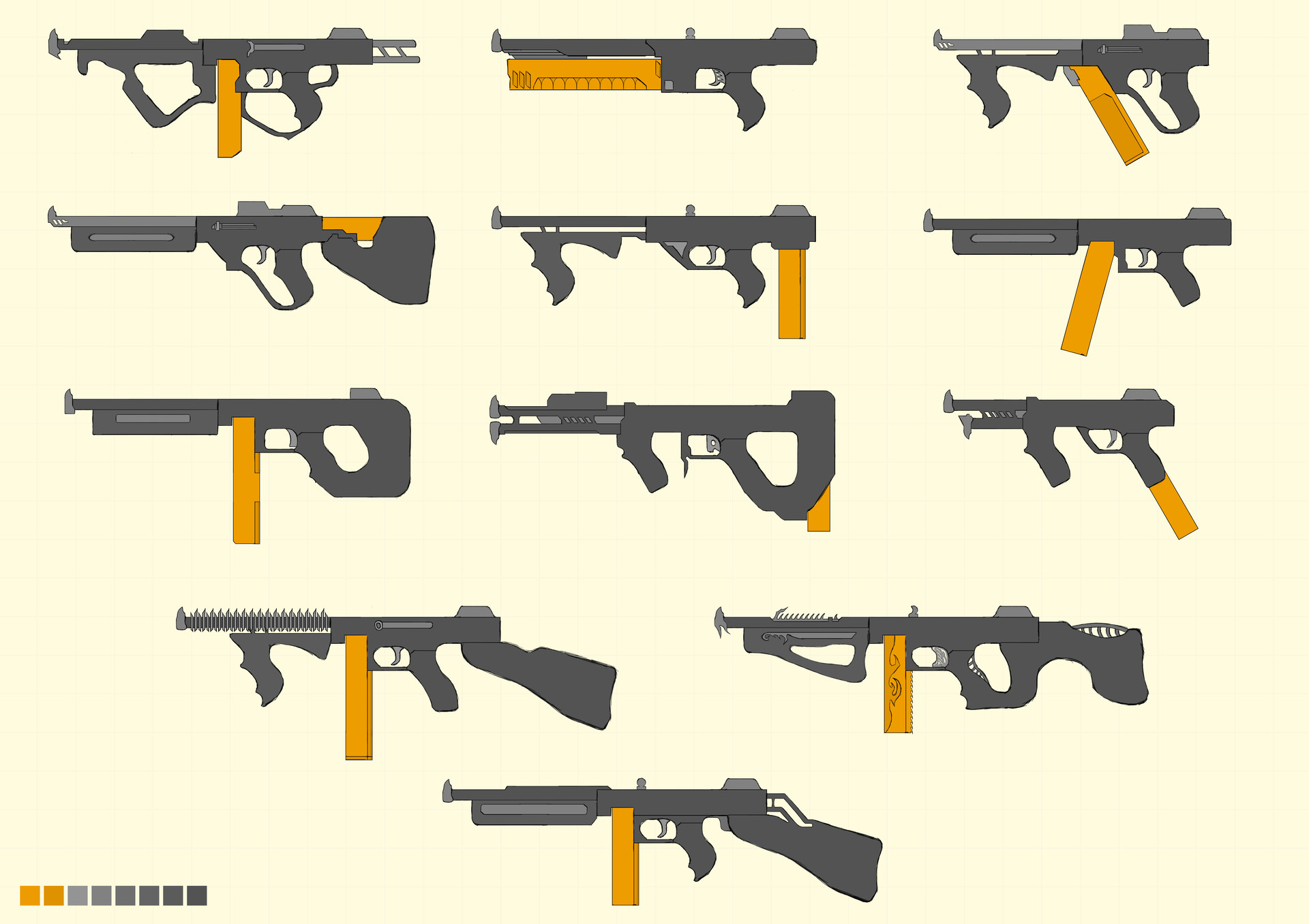 Even More Thompson Redesigns