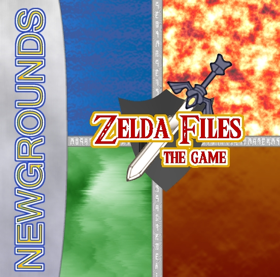 Zelda Files: The game cover