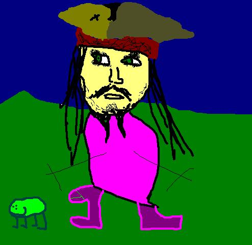 Jack Sparrow mzpainted