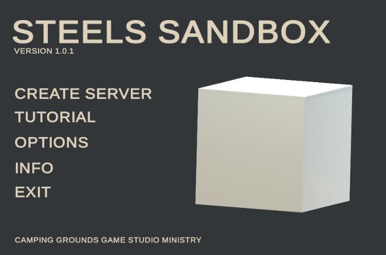 Oțel Sandbox 1.0.1 Imagine Snapshot