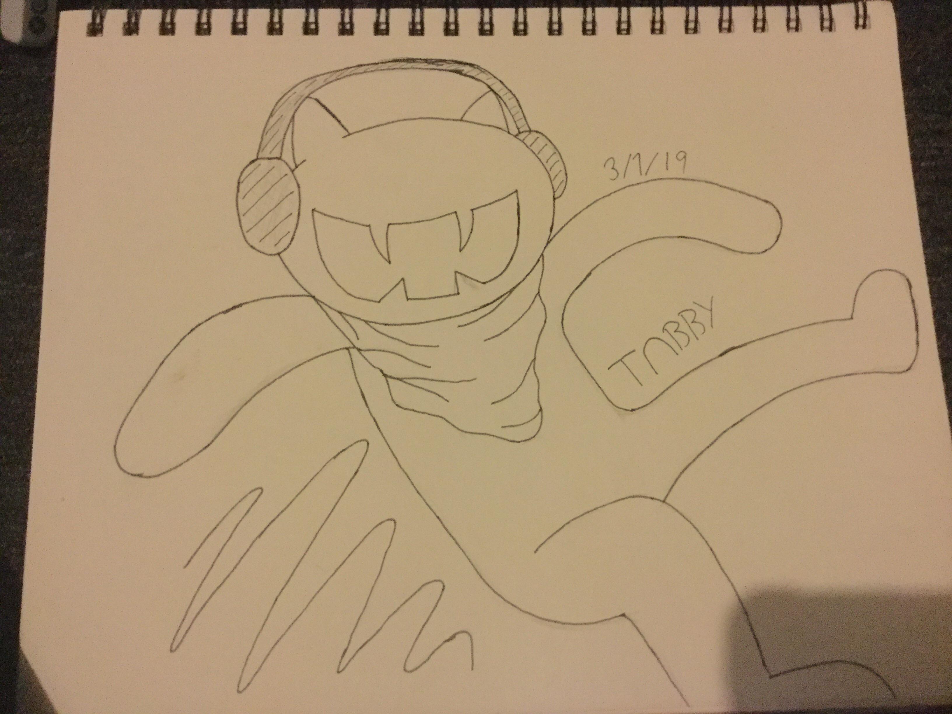 Monstercat ( hand drawn )