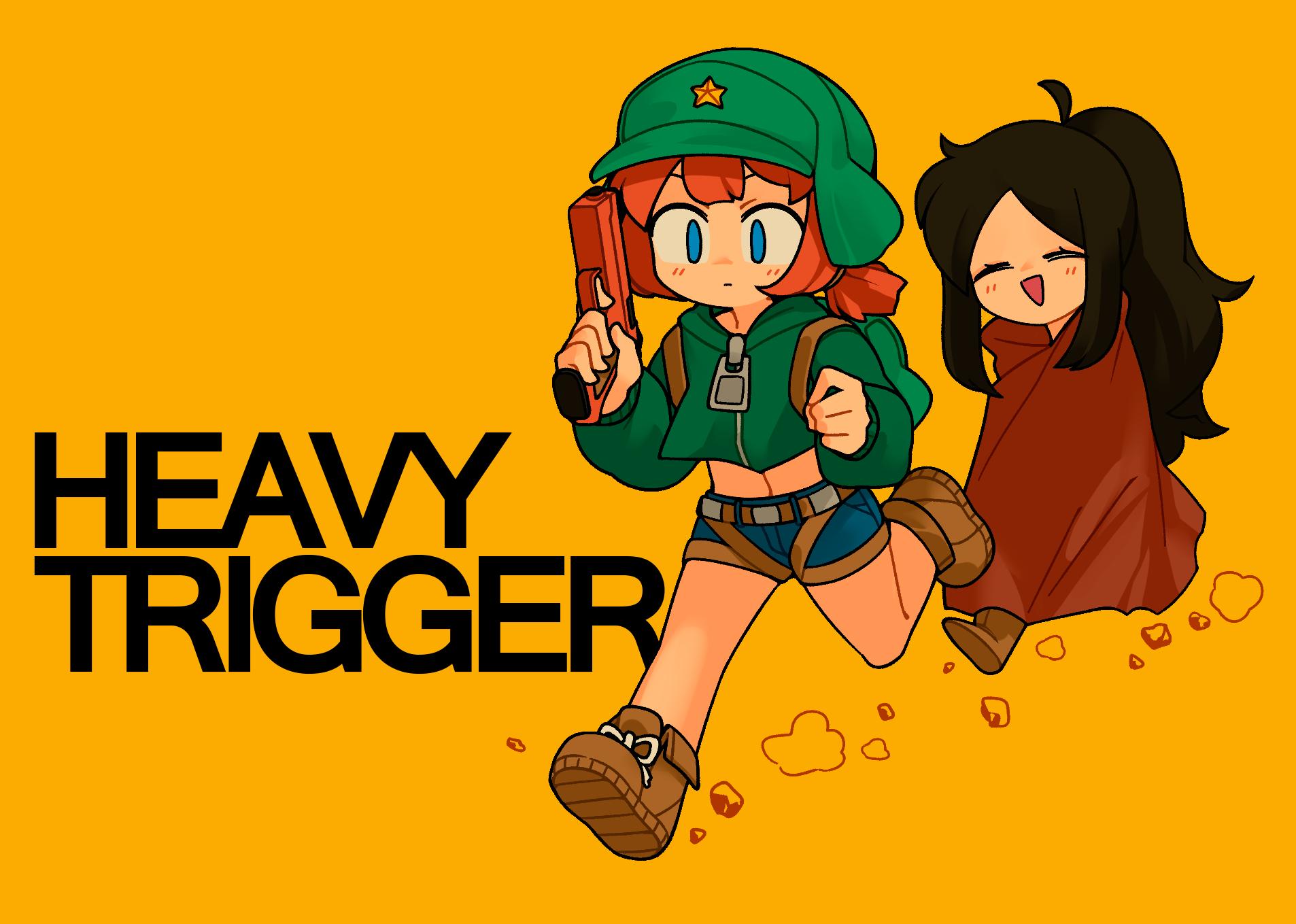 HEAVY TRIGGER - Barrel and Pea