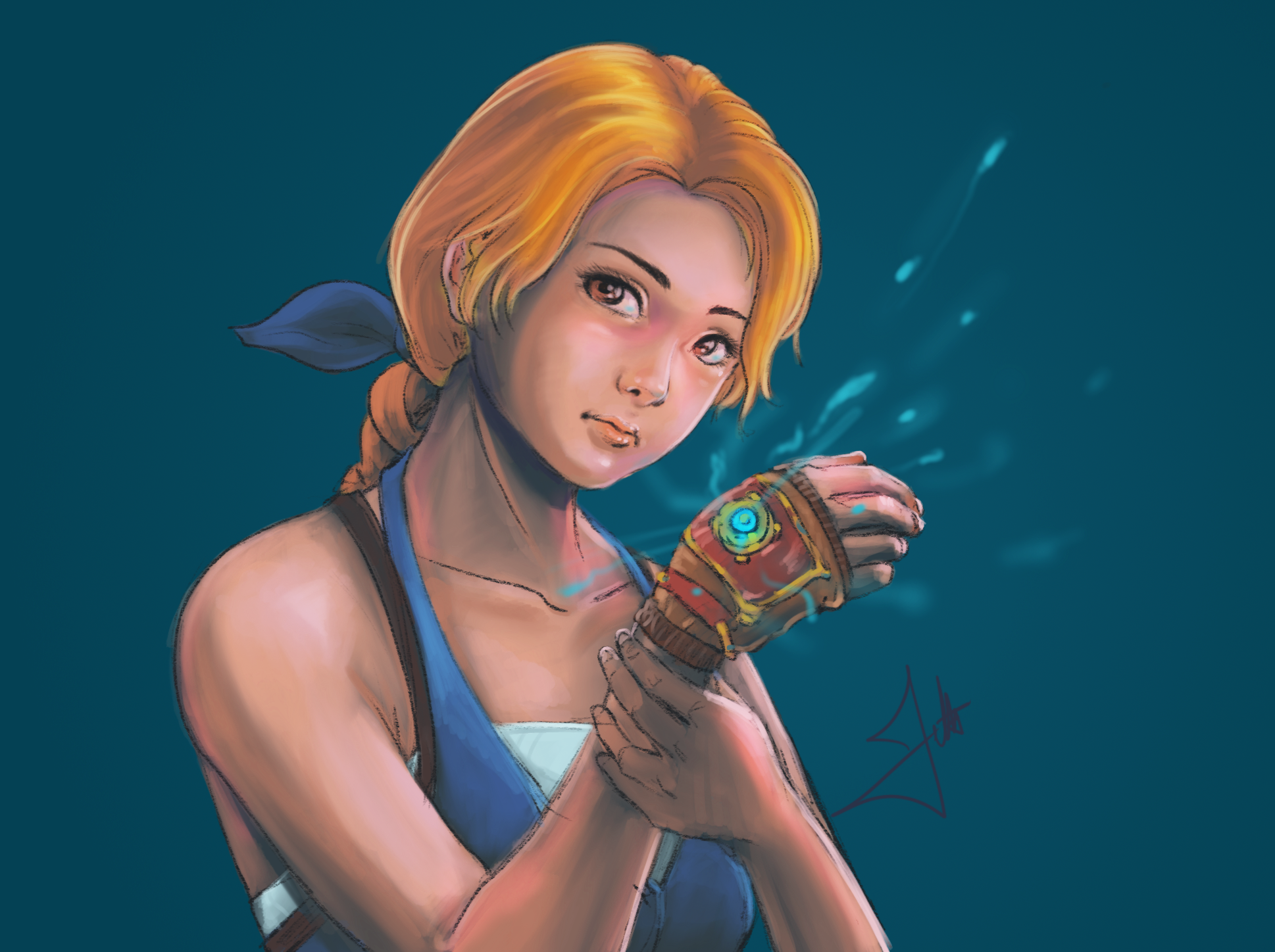 Forgotton Anne Fanart