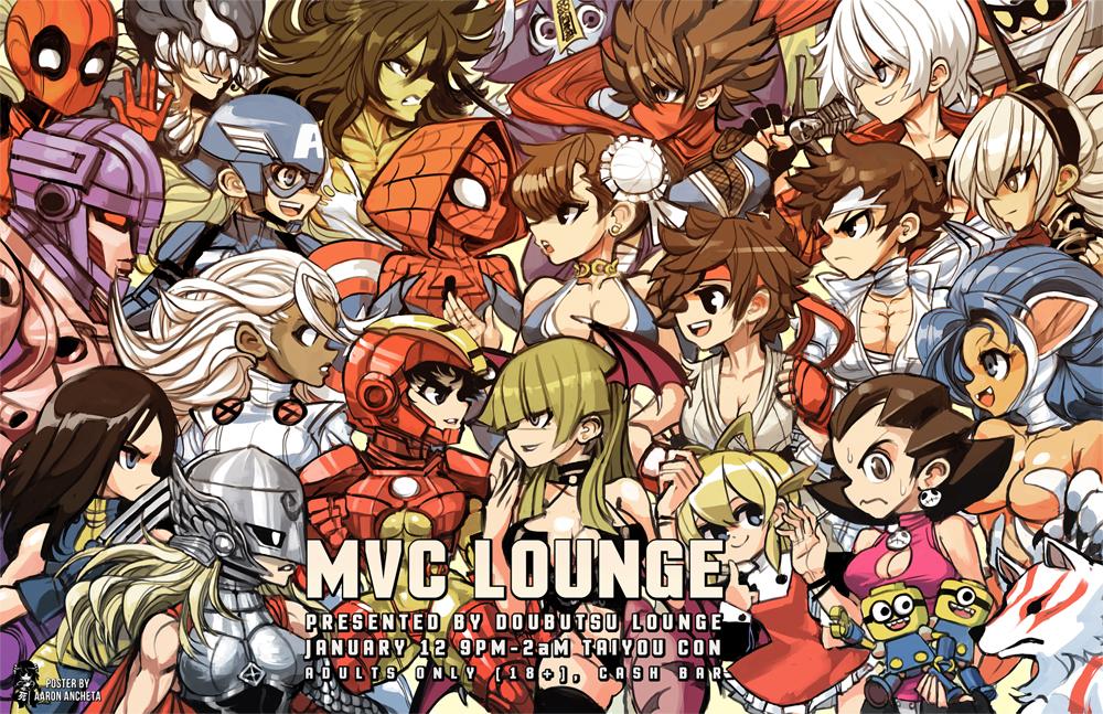 Marvel Vs Capcom Event Poster