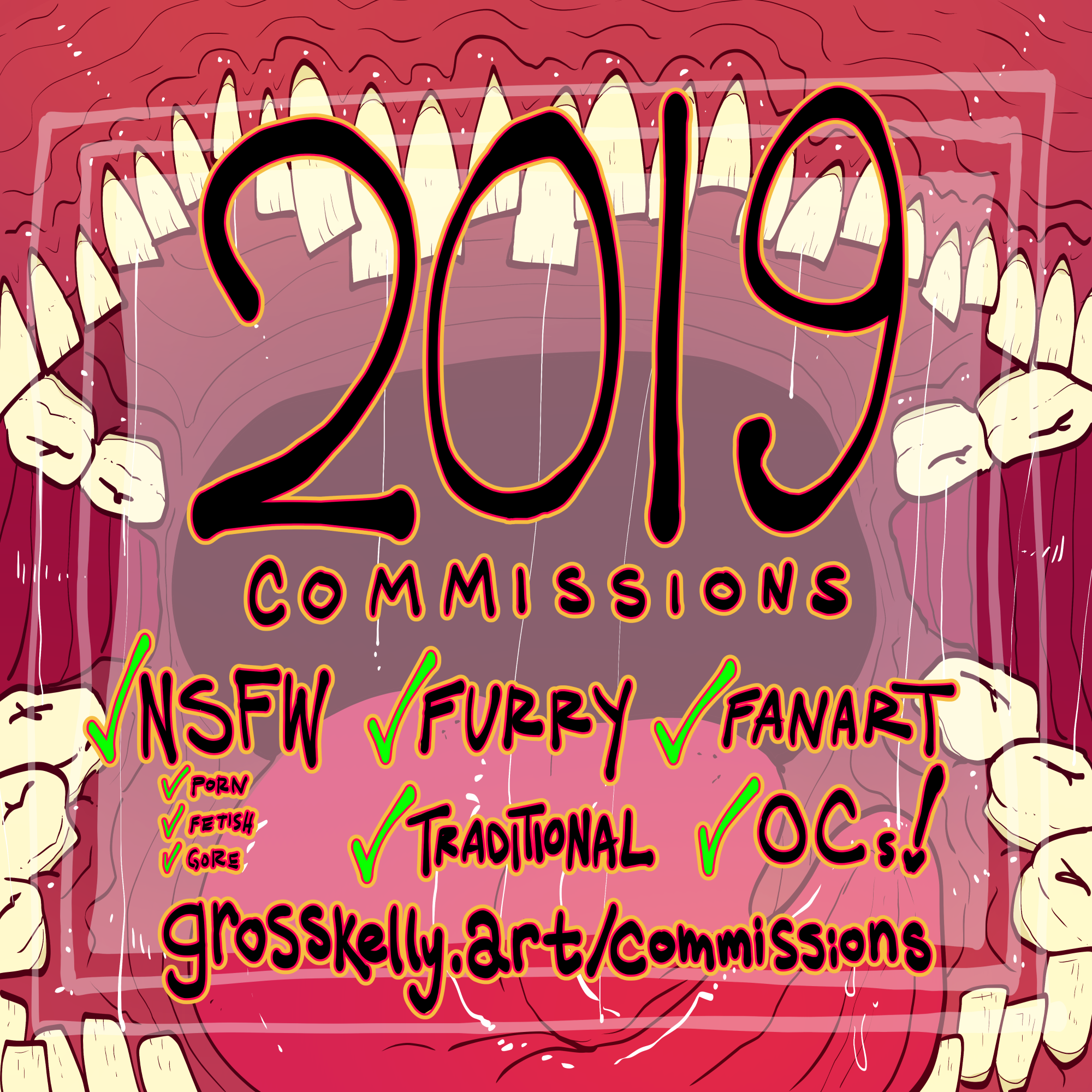 2019 COMMISSIONS OPEN!!!