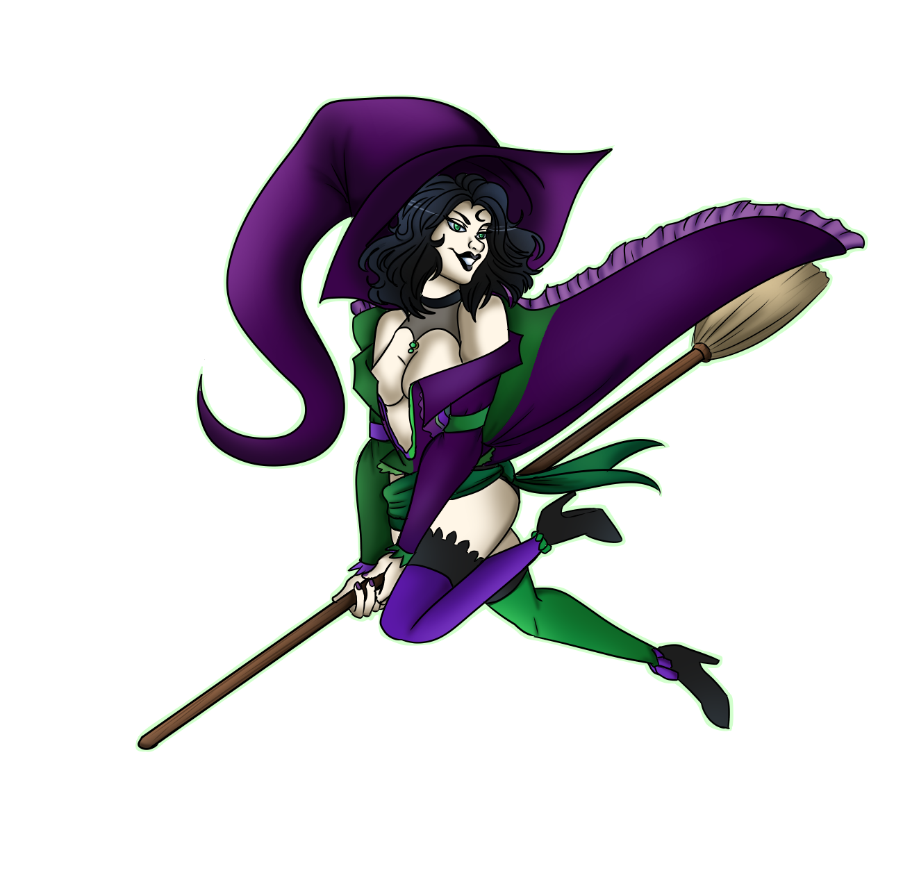 Witch Pinup