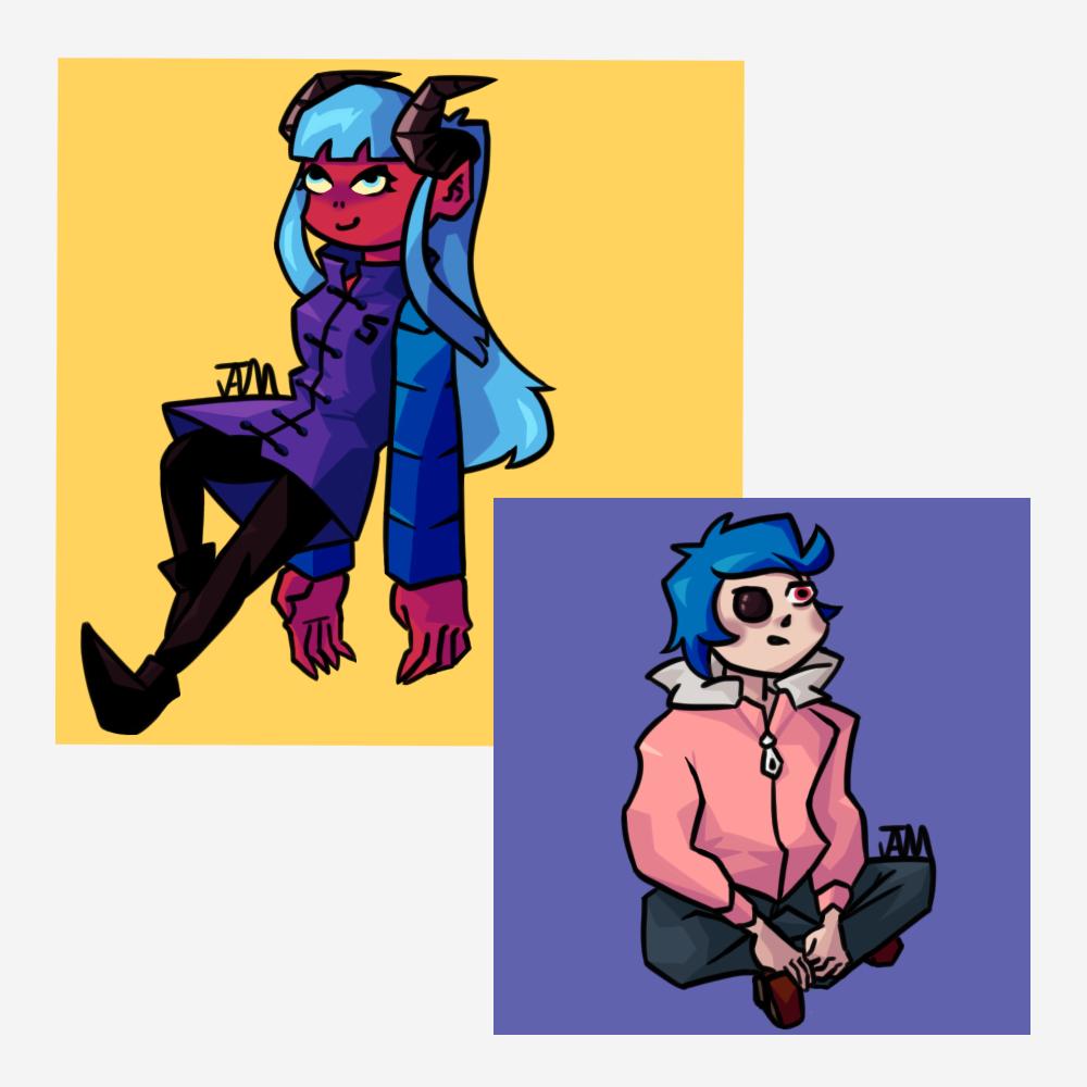 Tiik and his Demon Girl