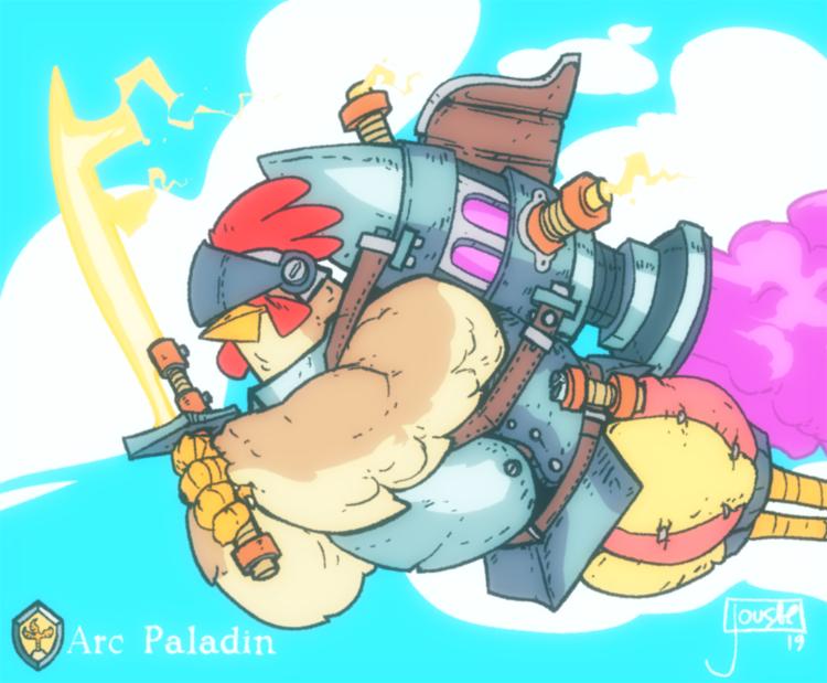 Sky Duels: Arc Paladin
